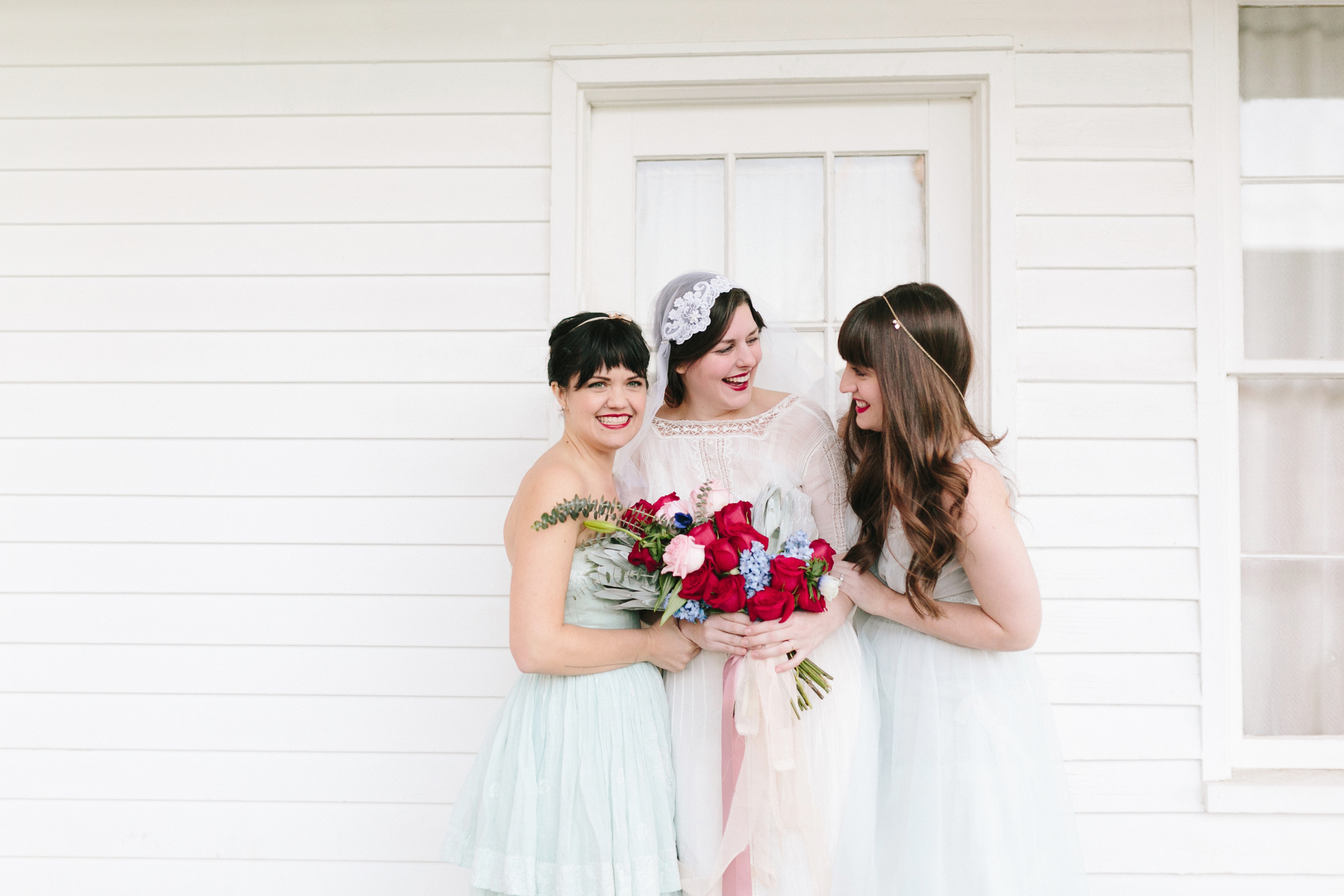 Valentines Bride and Her Bridesmaids  Styled Session  Hurtienne Photography  Portland Oregon Wedding Photographers (38)