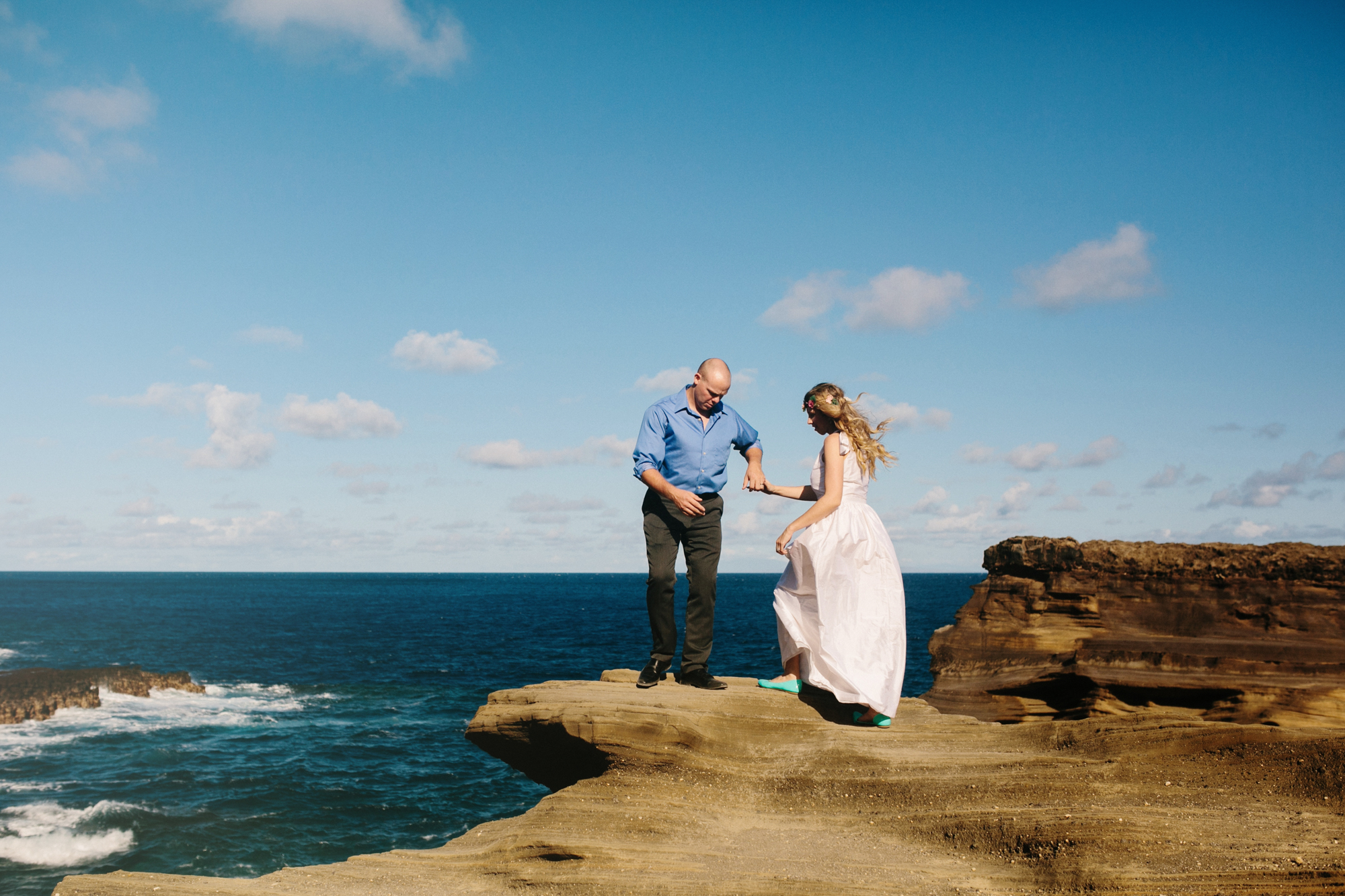 Oahu Wedding Photographer- Hawaii Destination Wedding- kahauloa cove- Grace and Jaden Hurtienne Photography (5).jpg