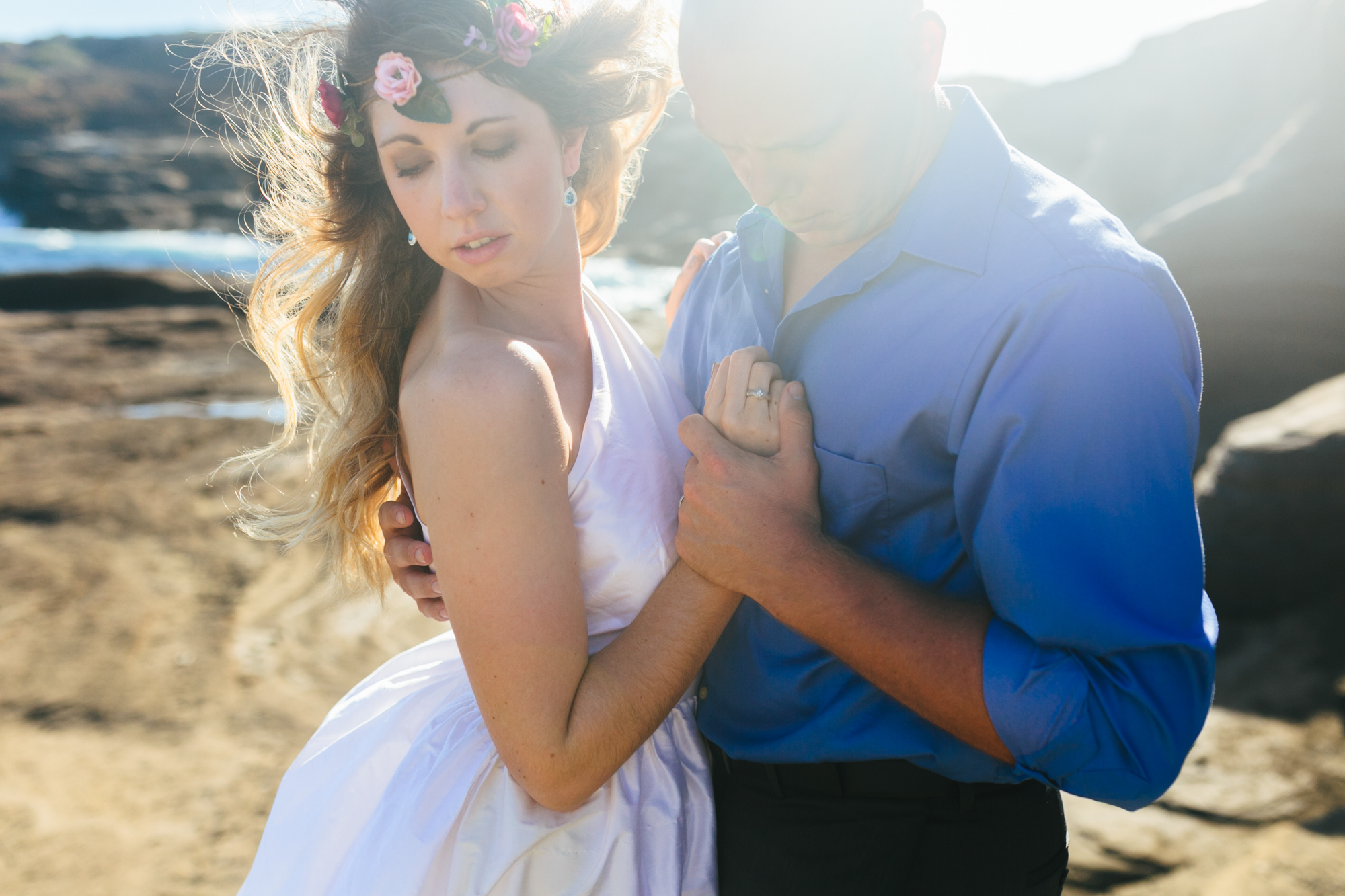 Oahu Wedding Photographer- Hawaii Destination Wedding- kahauloa cove- Grace and Jaden Hurtienne Photography (10).jpg