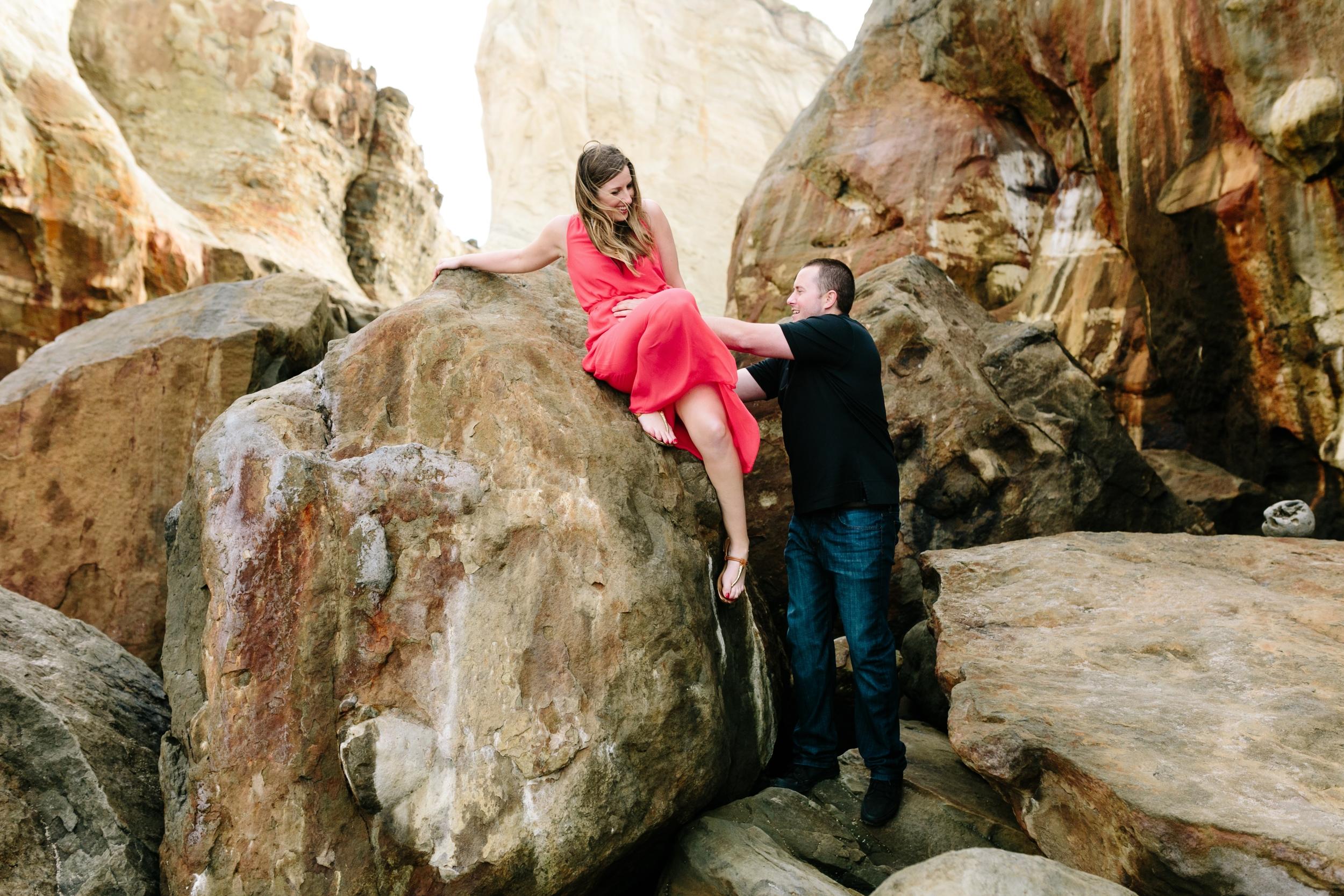 Pacific City, Portland Oregon Wedding Photographers- Engagement Session (10).jpg