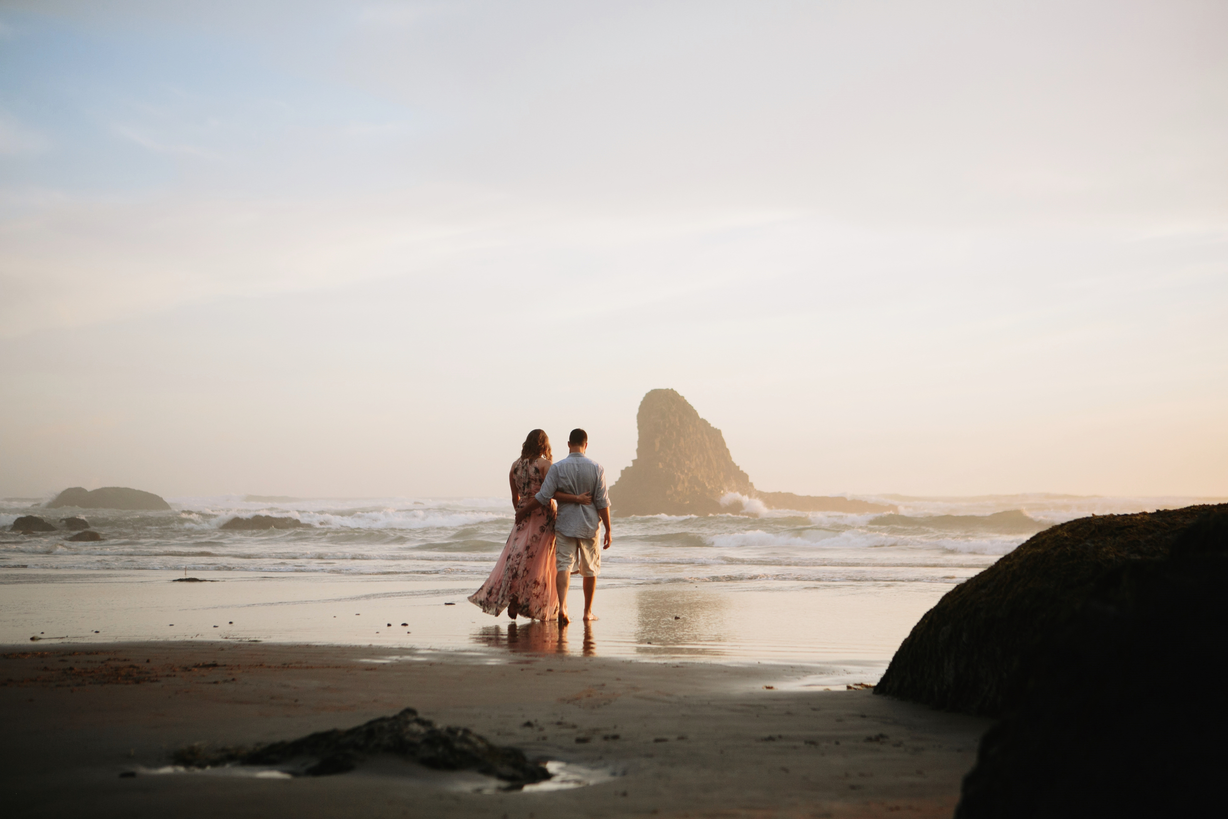 Oregon Coast Cannon Beach Engagement Session- Grace and Jaden photography (21).jpg