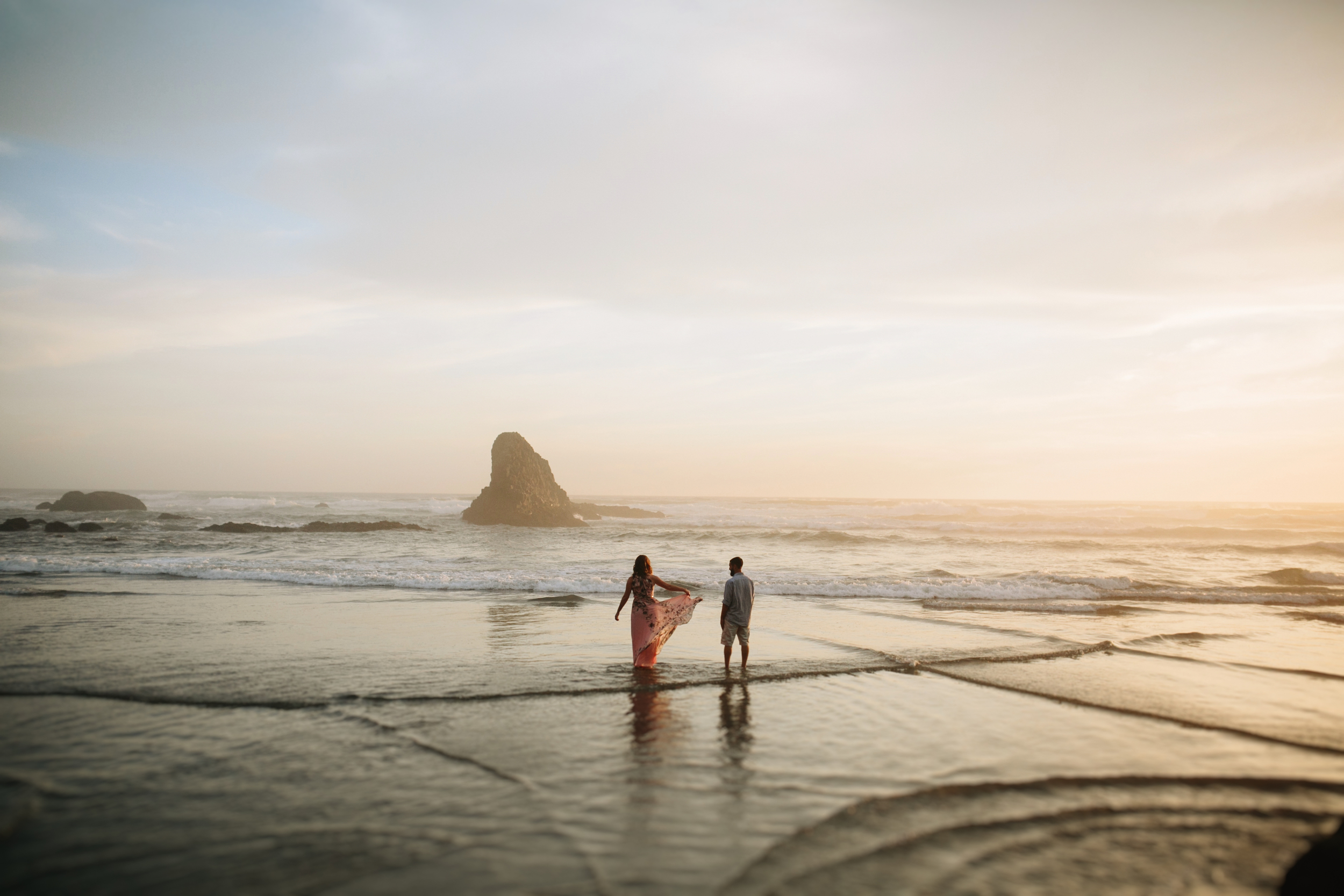 Oregon Coast Cannon Beach Engagement Session- Grace and Jaden photography (24).jpg
