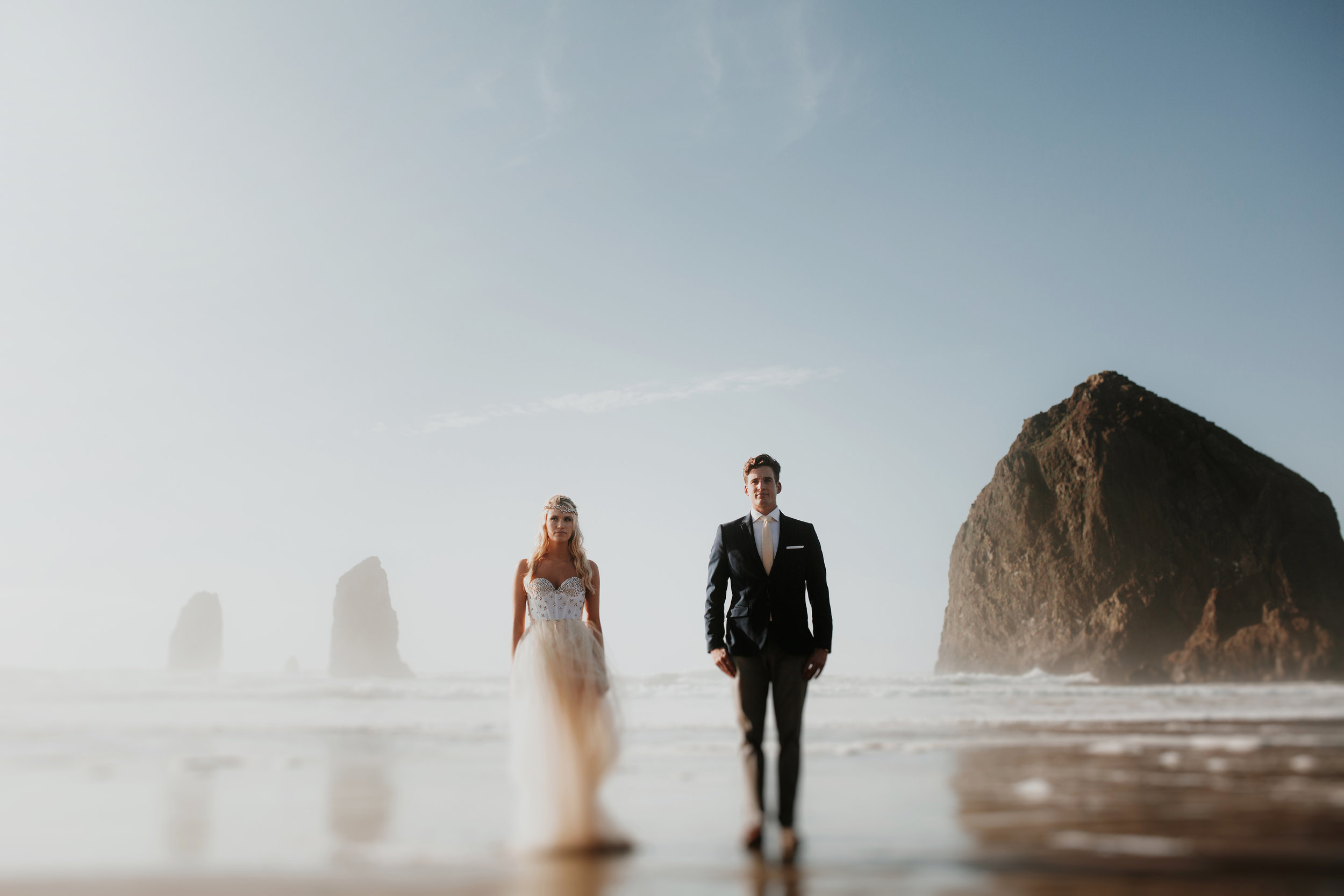 Grace and Jaden- Portland Oregon Wedding Photographers- Best Places to Elope in Oregon- Cannon Beach (1).jpg