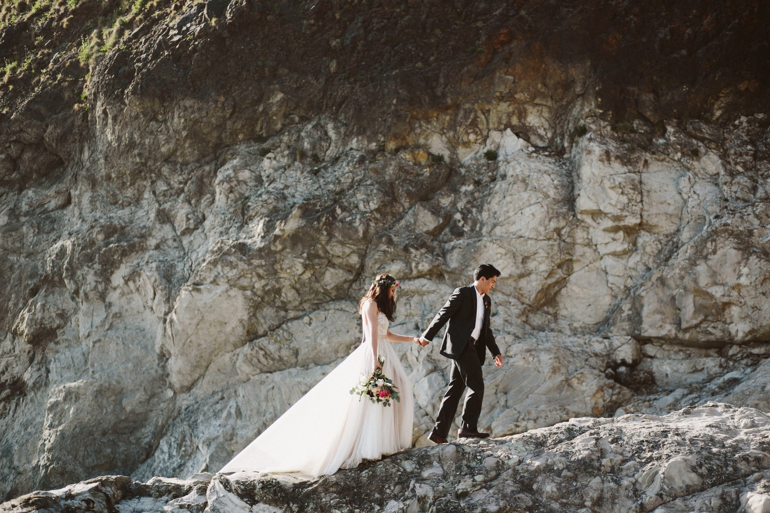 Grace and Jaden Photography- Best Places to Elope in Oregon- Acadia Beach (2).jpg