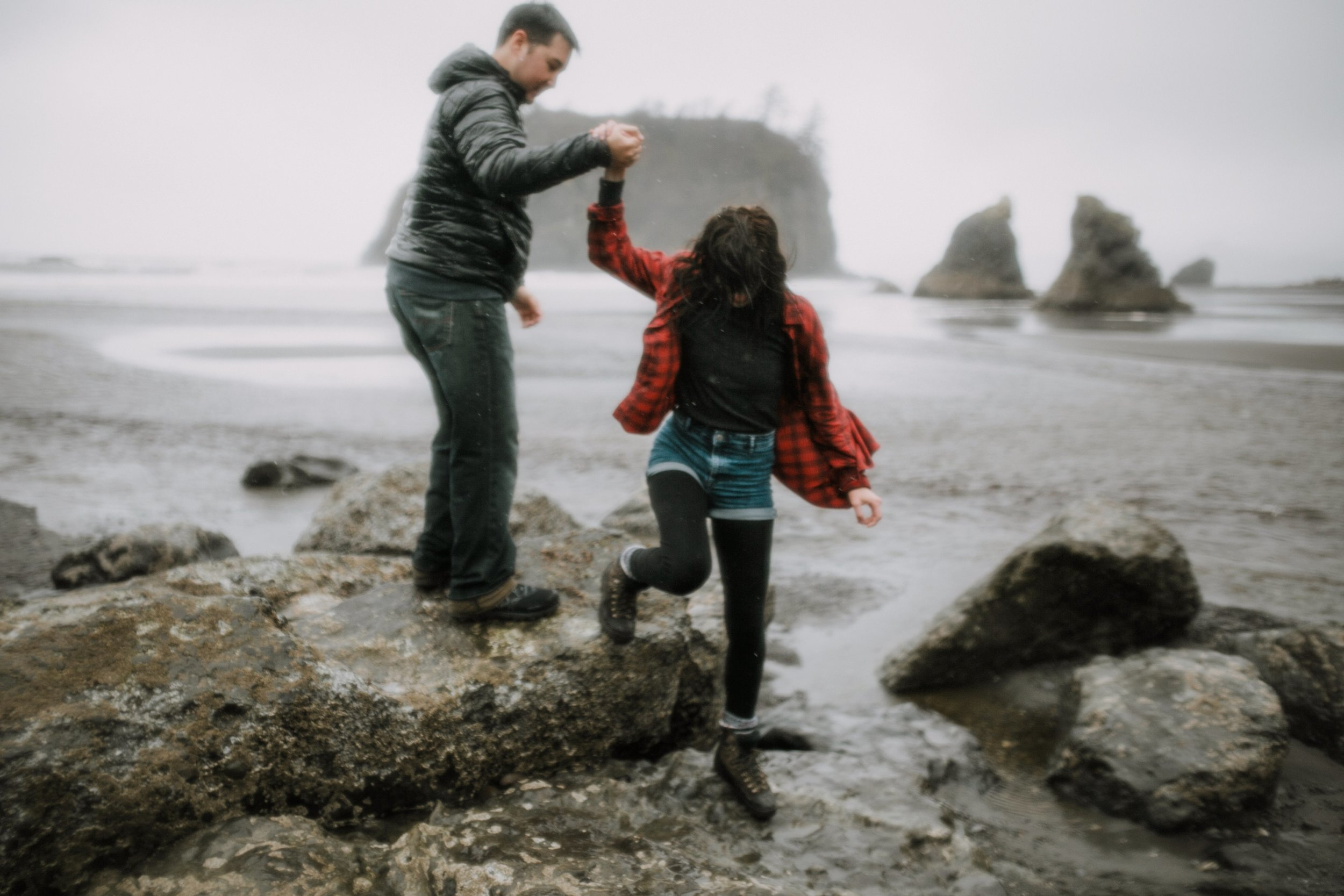 Cassie and Michael- Ruby Beach Love Shoot- Grace and Jaden Photography (22).jpg