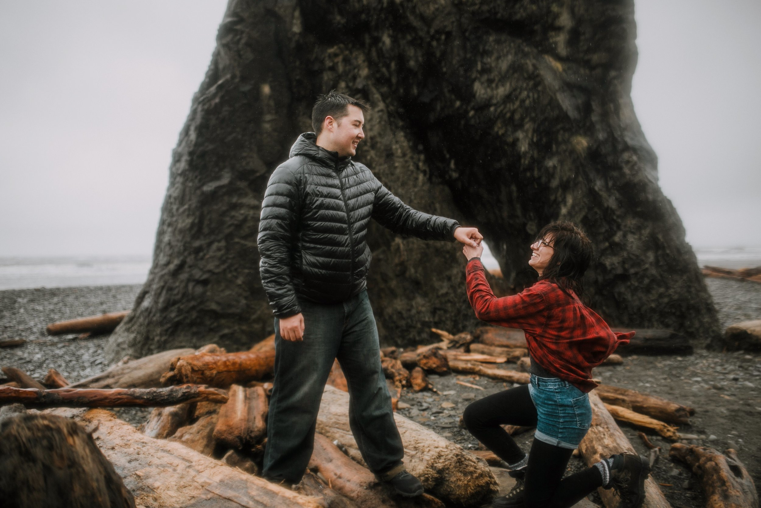Cassie and Michael- Ruby Beach Love Shoot- Grace and Jaden Photography (46).jpg
