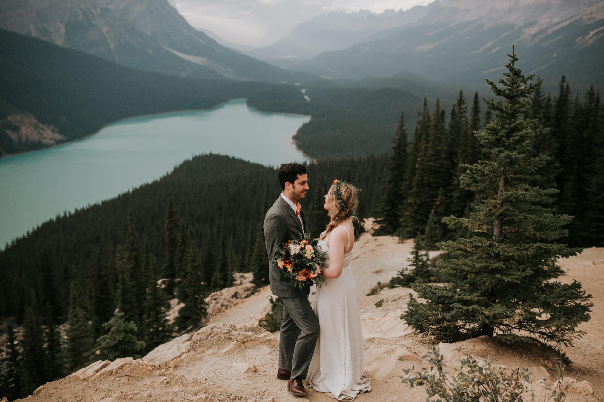 Banff National Park, Alberta Canada Elopement - Grace and Jaden Photography (129).jpg