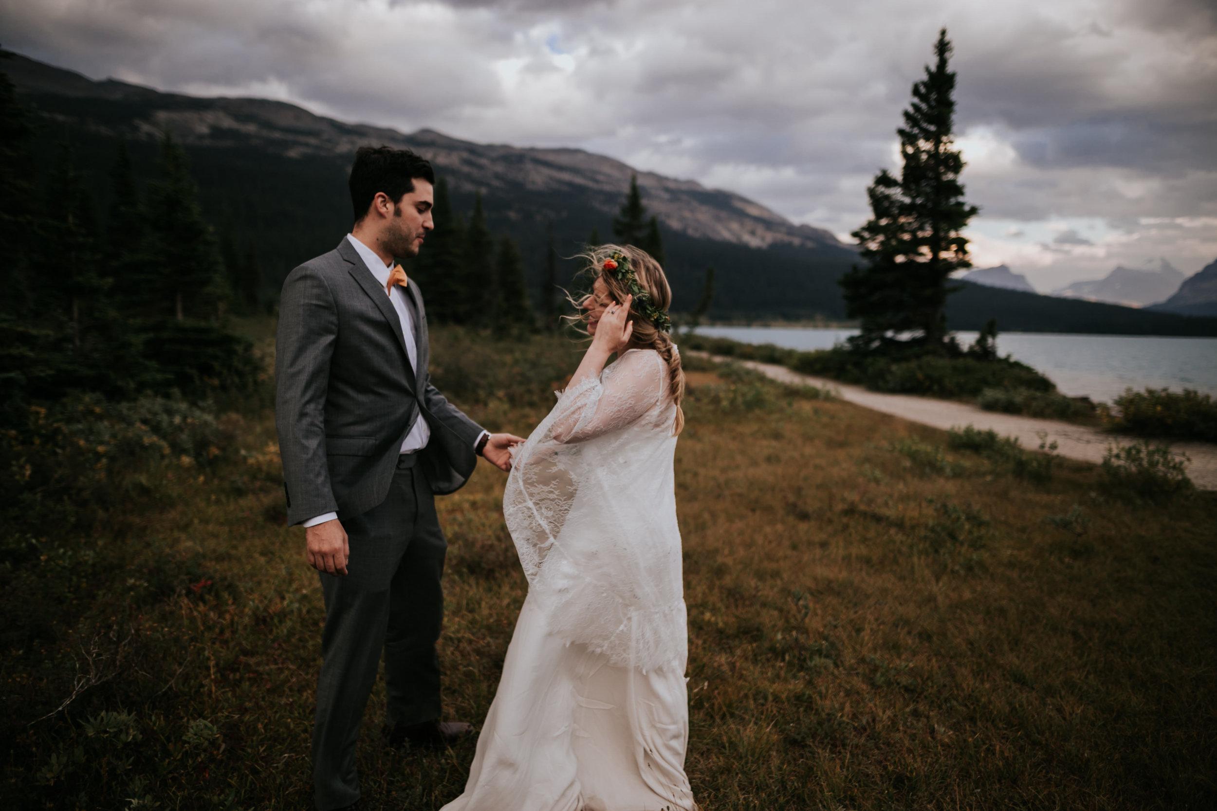 Banff National Park, Alberta Canada Elopement - Grace and Jaden Photography (153).jpg