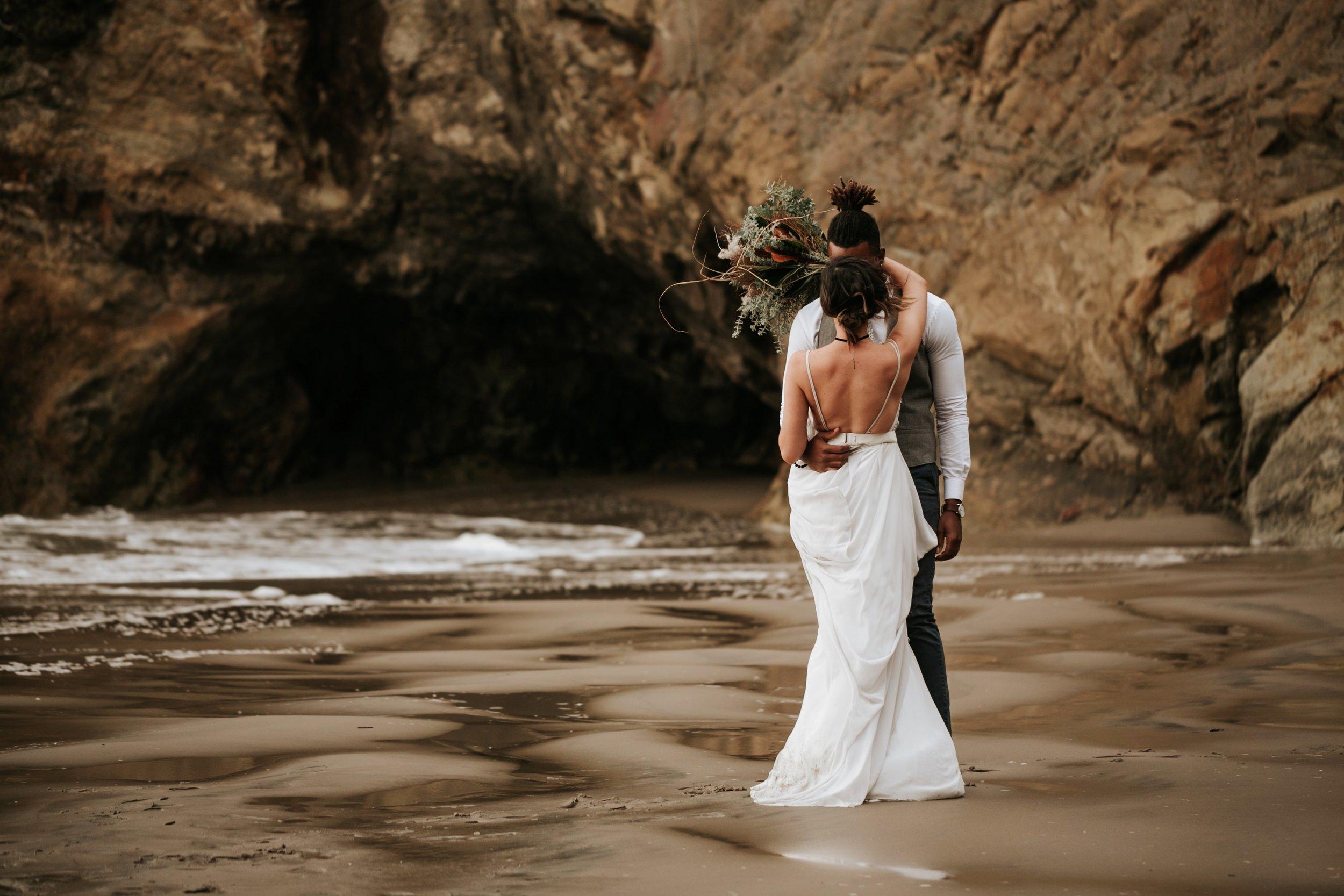 Hug Point Oregon Elopement- Cannon Beach- Grace and Jaden Photography (20).jpg