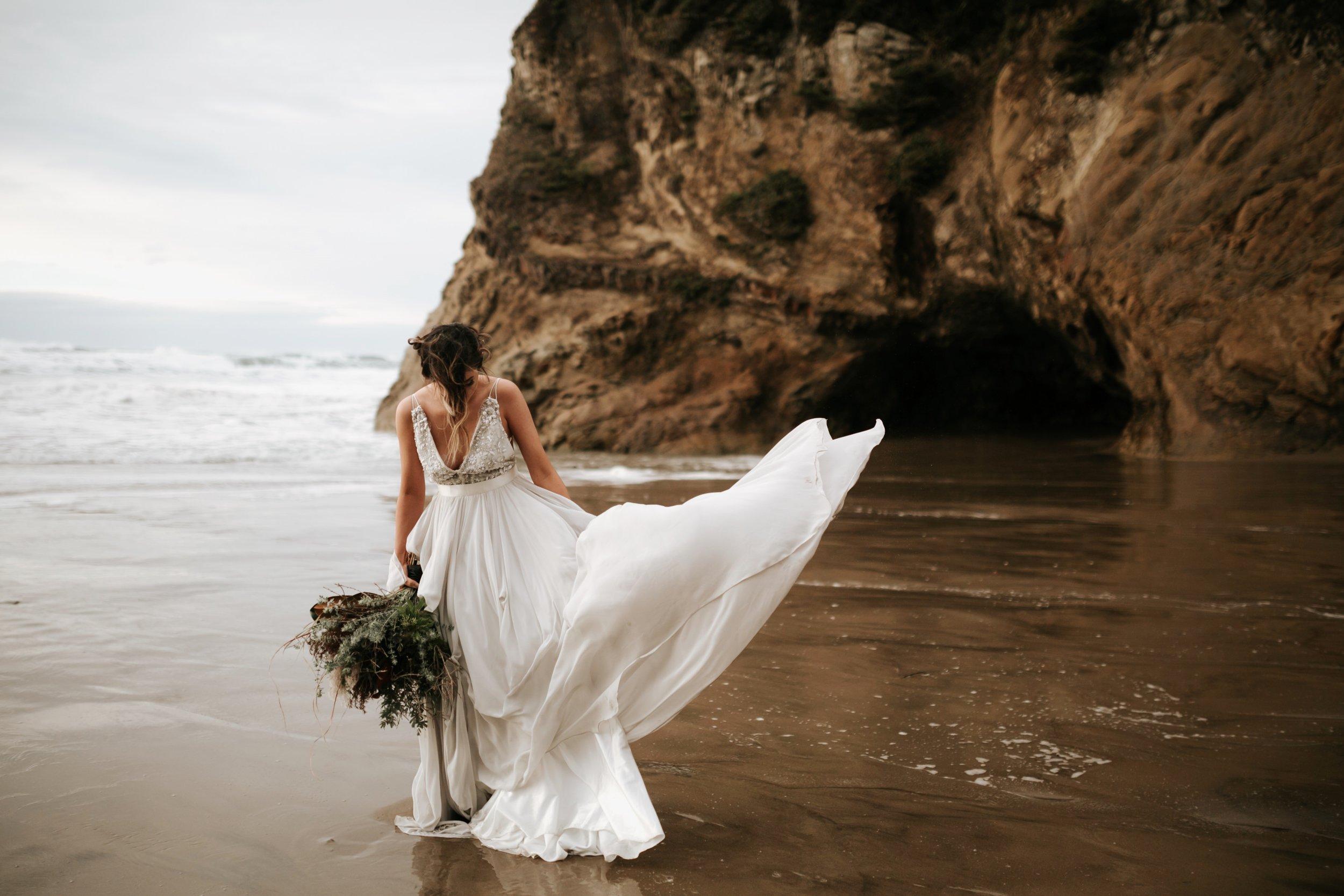 Hug Point Oregon Elopement- Cannon Beach- Grace and Jaden Photography (26).jpg