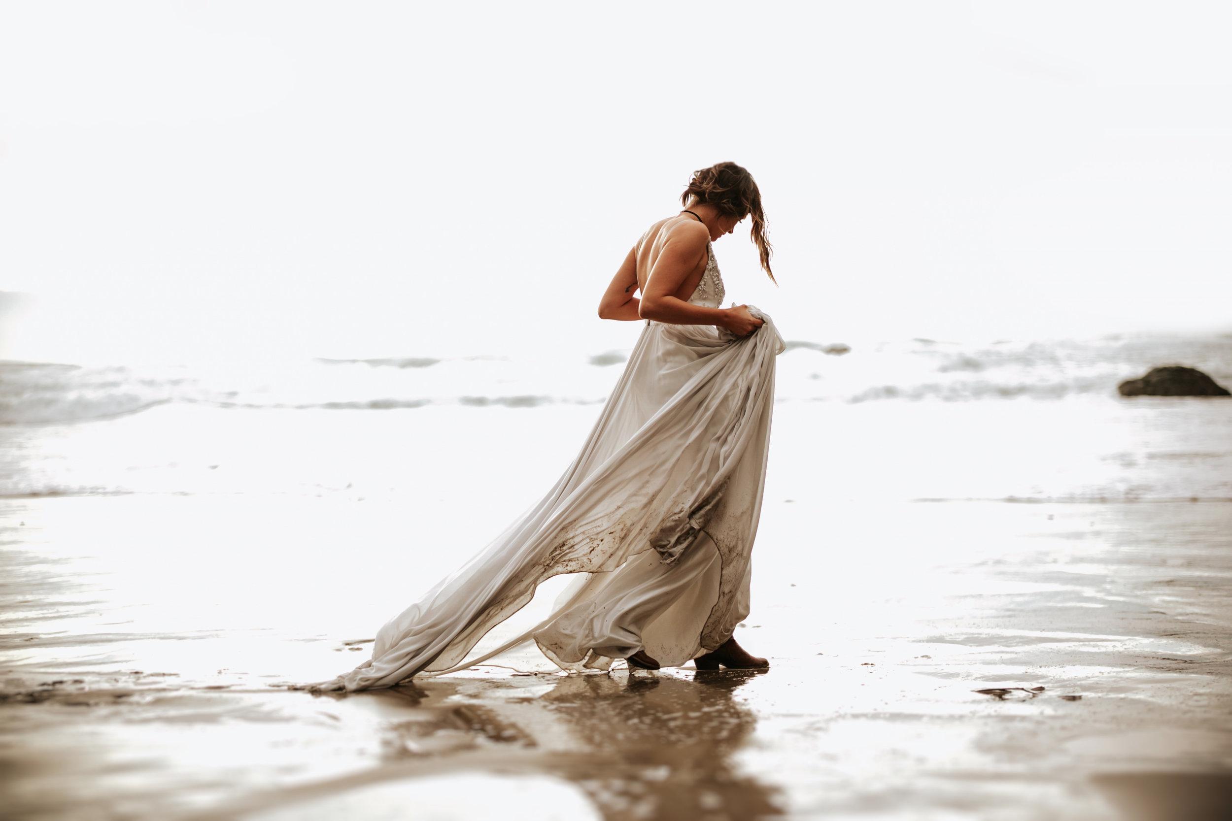 Hug Point Oregon Elopement- Cannon Beach- Grace and Jaden Photography (27).jpg