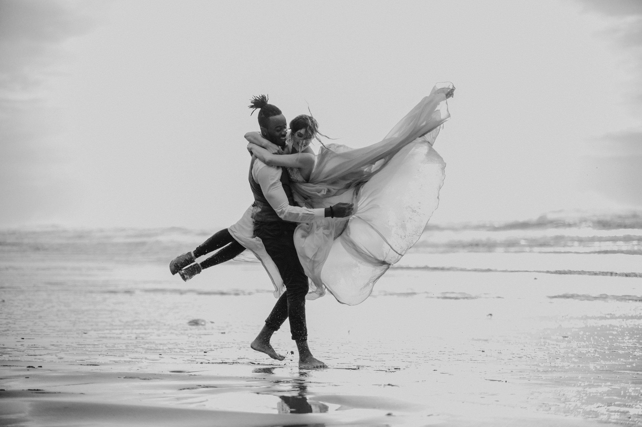 Hug Point Oregon Elopement- Cannon Beach- Grace and Jaden Photography (31).jpg