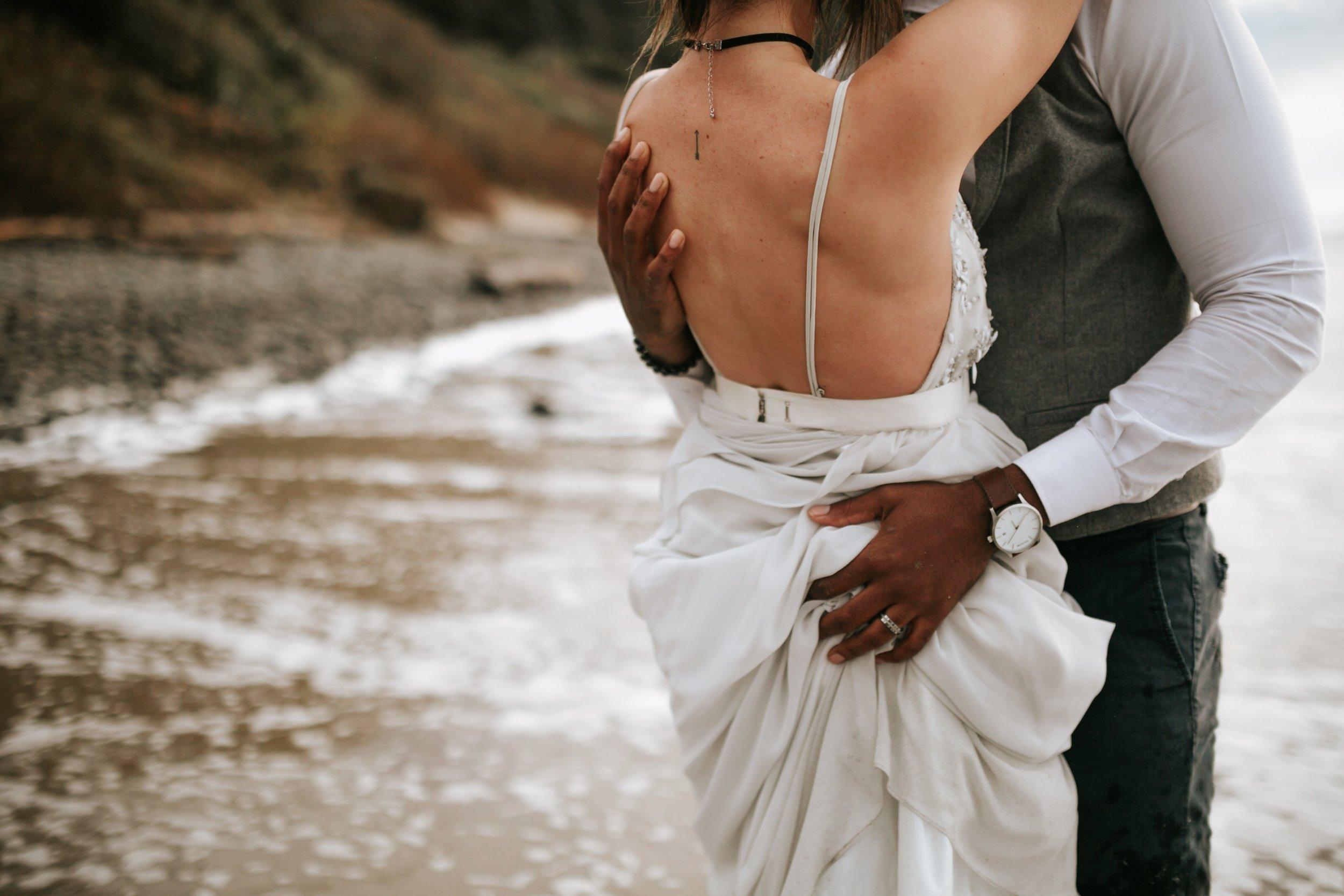 Hug Point Oregon Elopement- Cannon Beach- Grace and Jaden Photography (37).jpg
