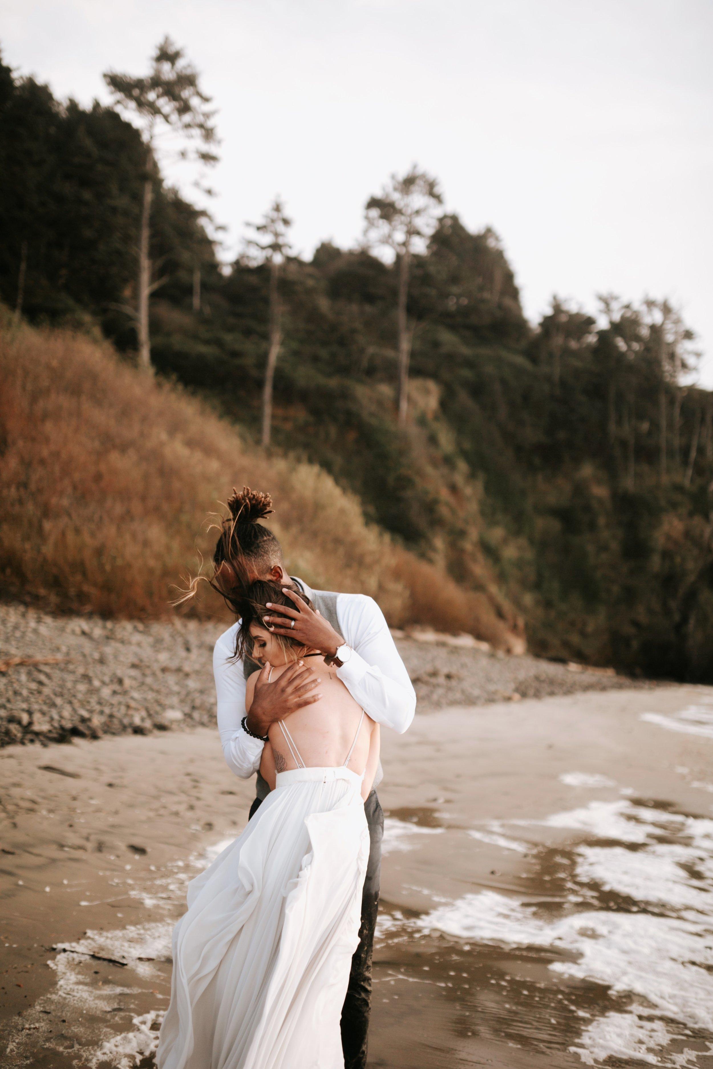 Hug Point Oregon Elopement- Cannon Beach- Grace and Jaden Photography (40).jpg