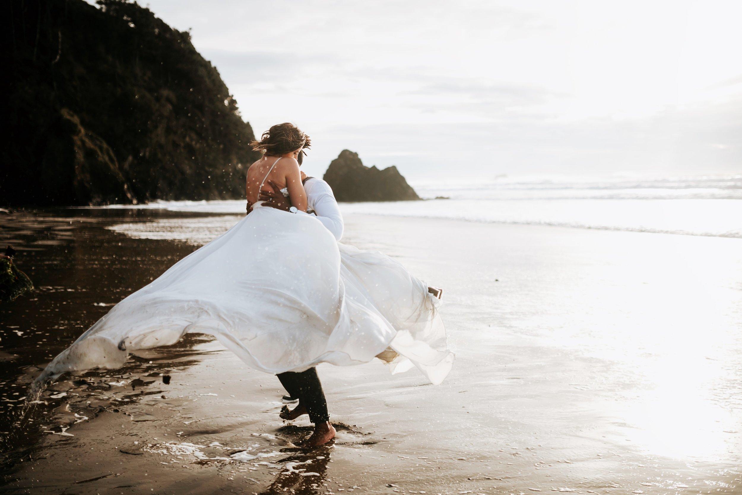 Hug Point Oregon Elopement- Cannon Beach- Grace and Jaden Photography (43).jpg