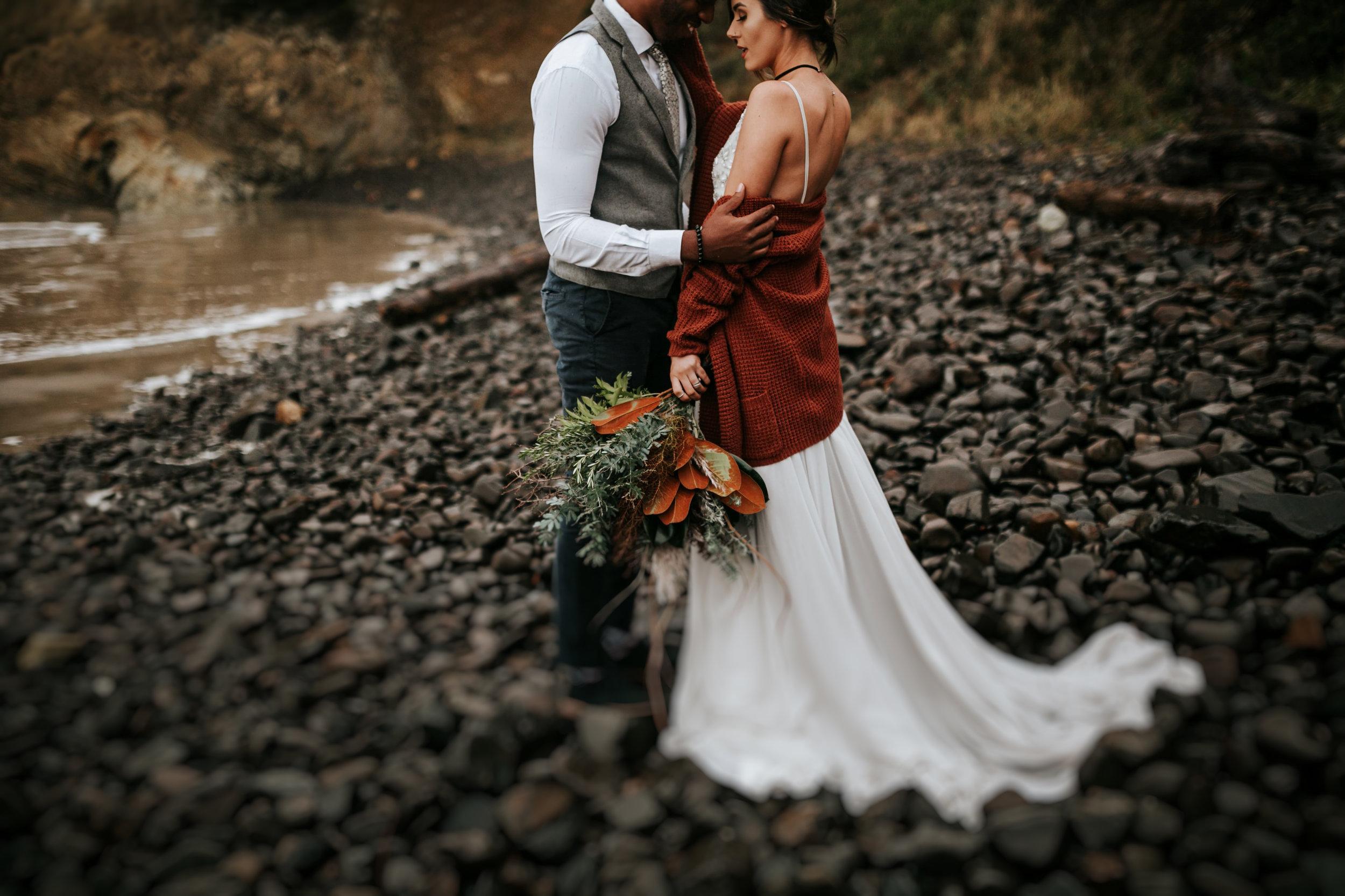 Hug Point Oregon Elopement- Cannon Beach- Grace and Jaden Photography (6).jpg
