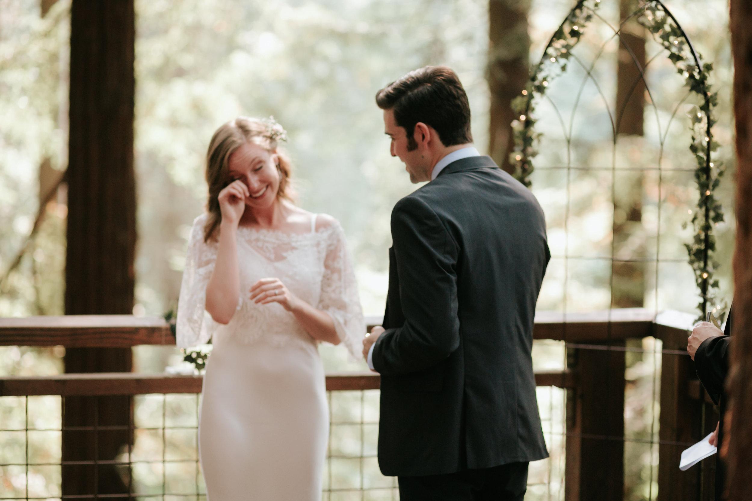 Hoyt Arboretum- Redwood Deck- Intimate Wedding (1)