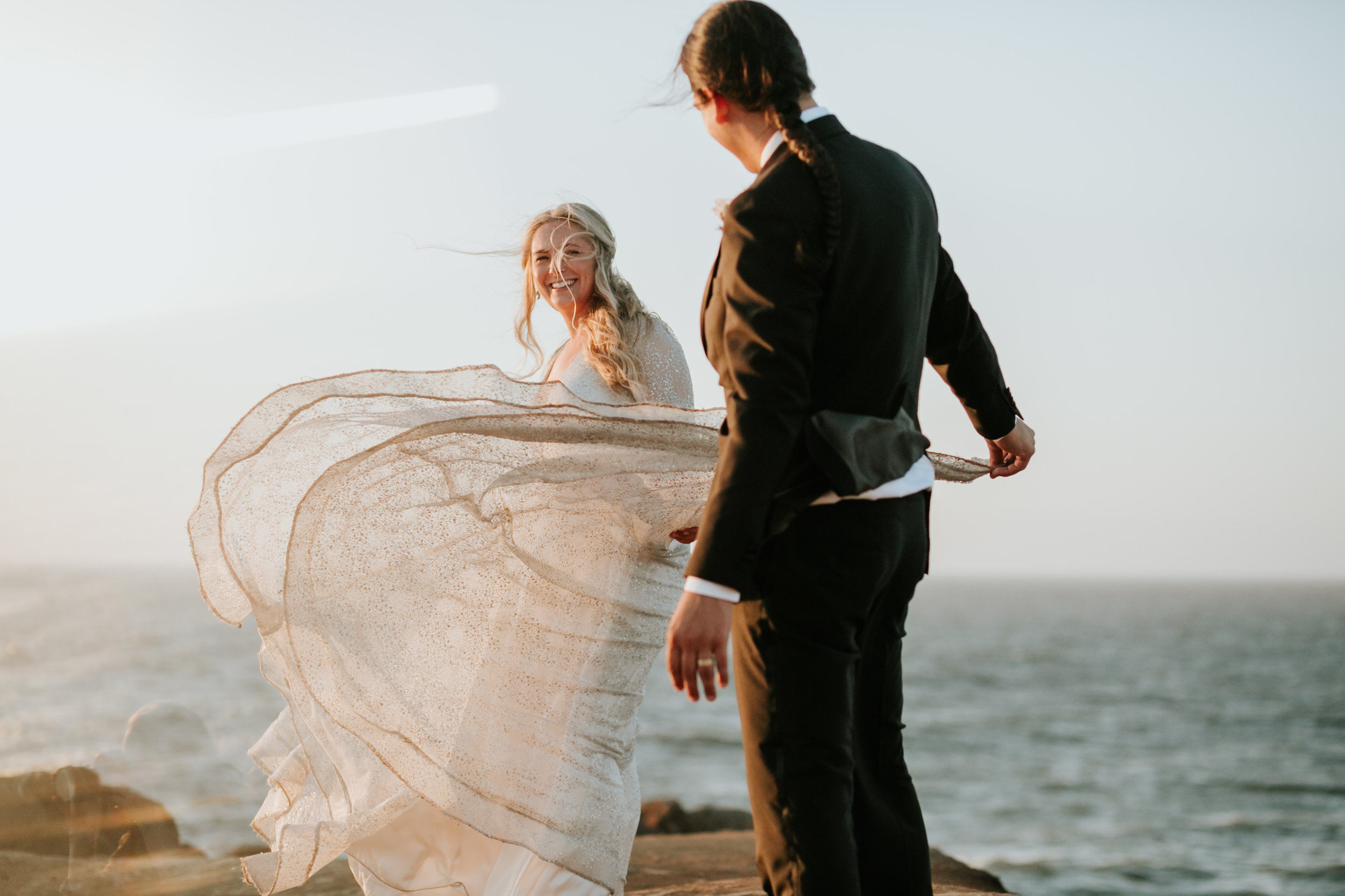 Fogarty Creek, Salishan Resort and Spa  Oregon Wedding