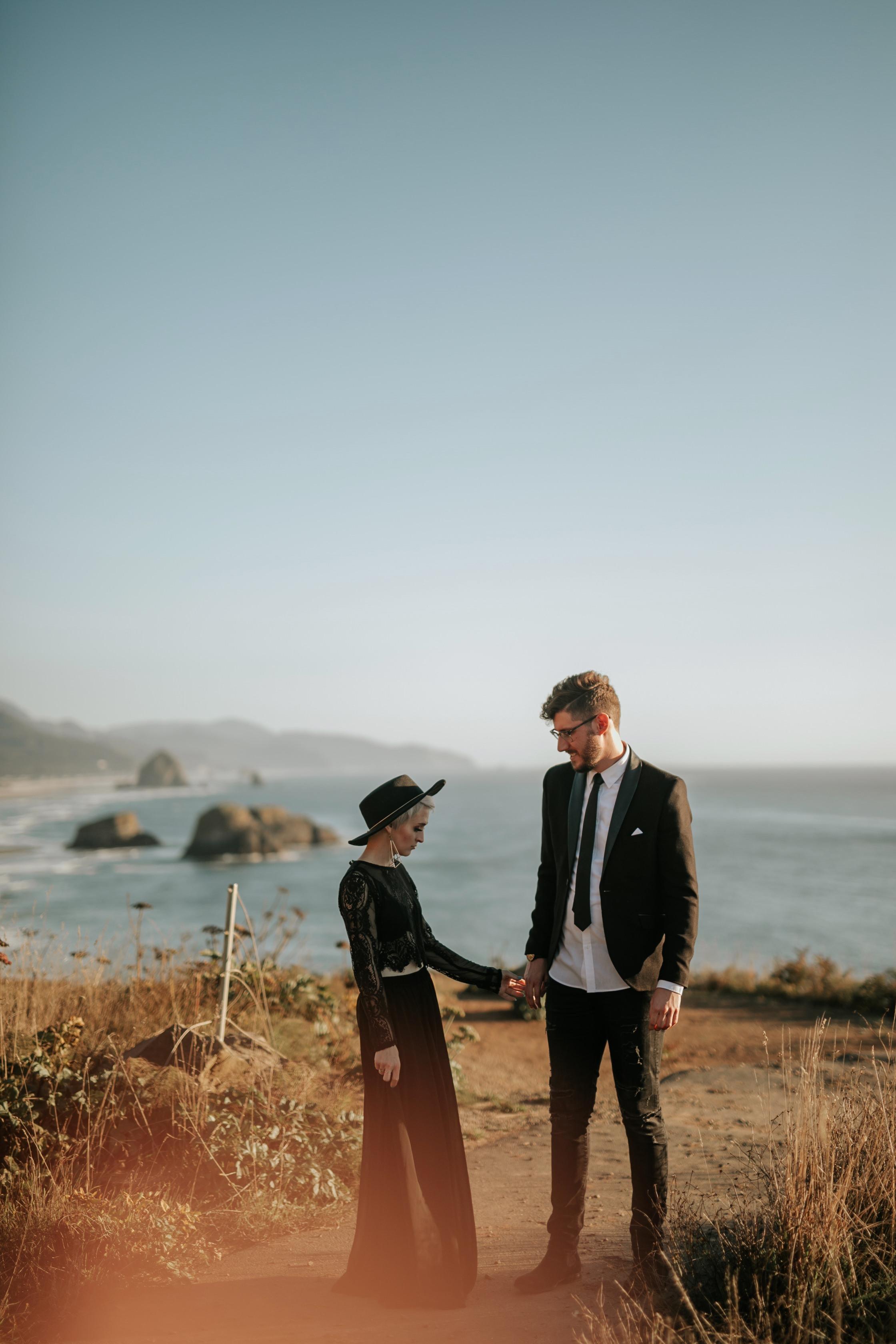 Cannon Beach Surprise Proposal