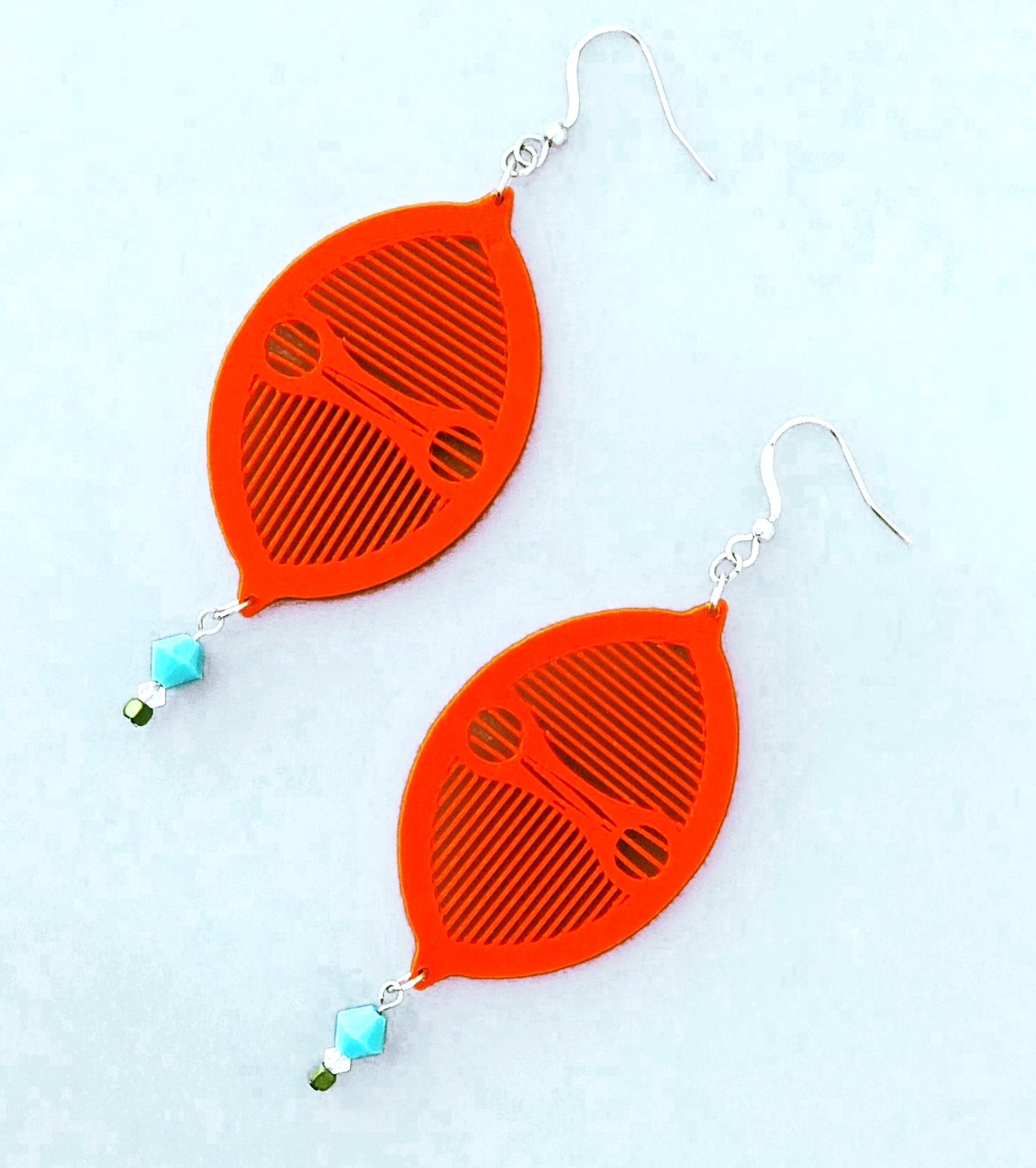 Miore Limon Orange Turquoise Swarokski Square Hematite Flat 4.12.15.jpg