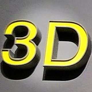 We offer custom block letters and signage.  #3D #digital #designs and #3printing. Product literally weights nothing!! All you need is a little tape to hand your custom design!