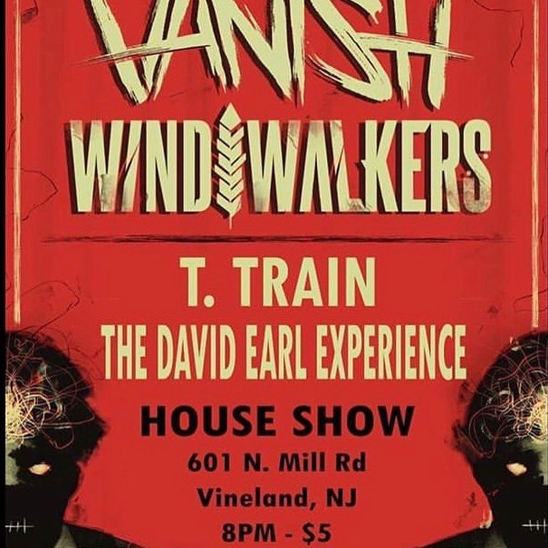 Next stop NEW JERSEY with @vanish.band ! Venue change for tonight! Come party 😎