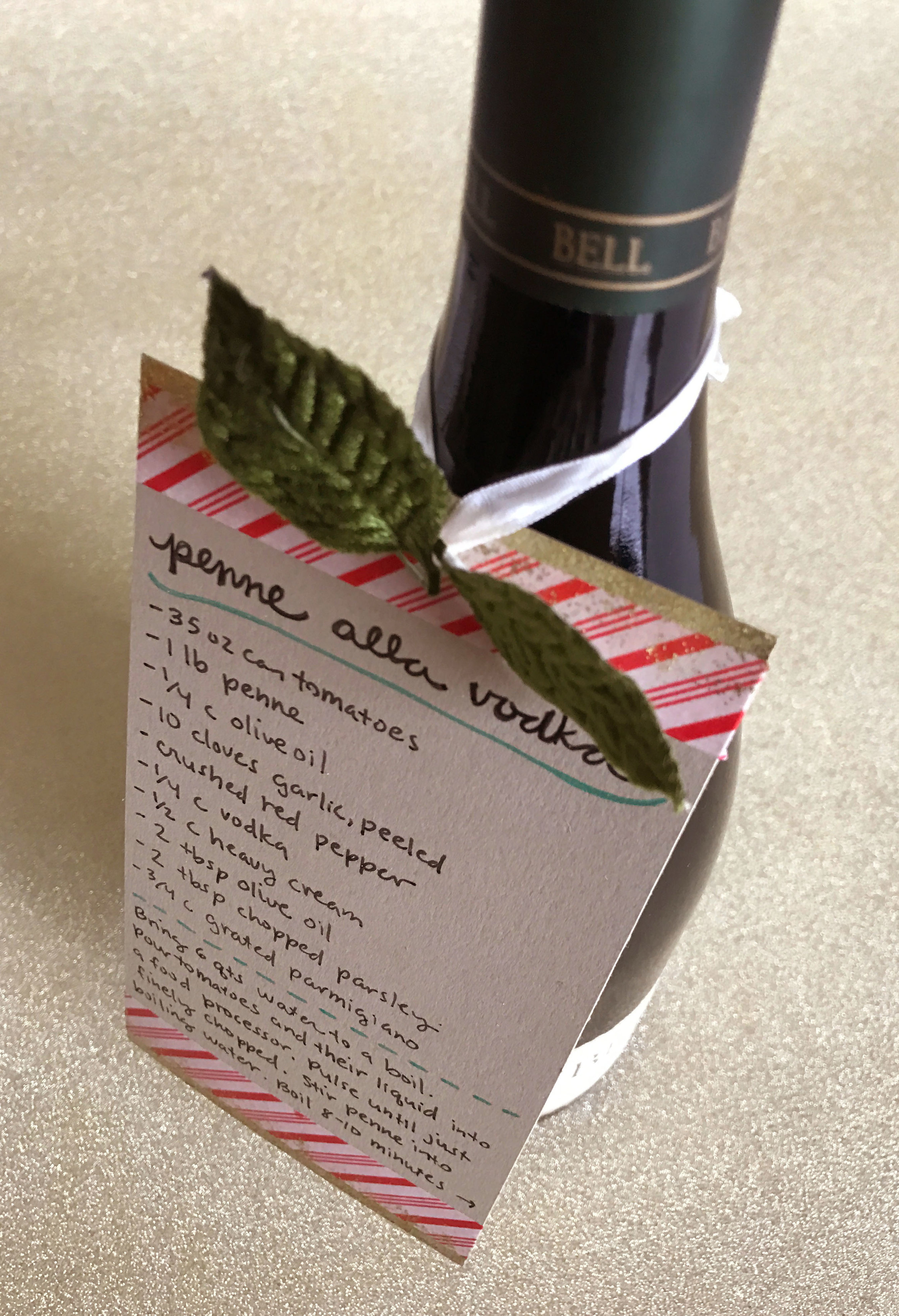 Wne Bottle Recipe Pairing