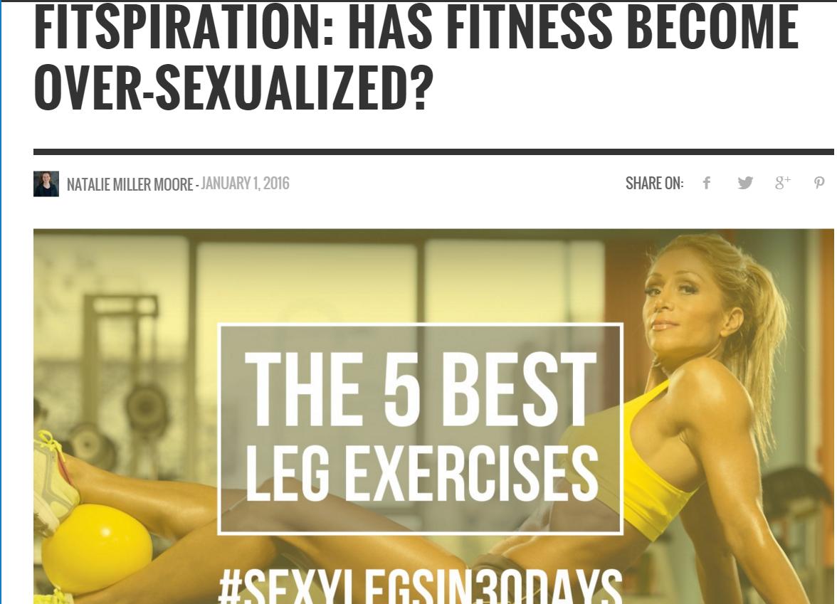 The Health Journal magazine: Fitspiration