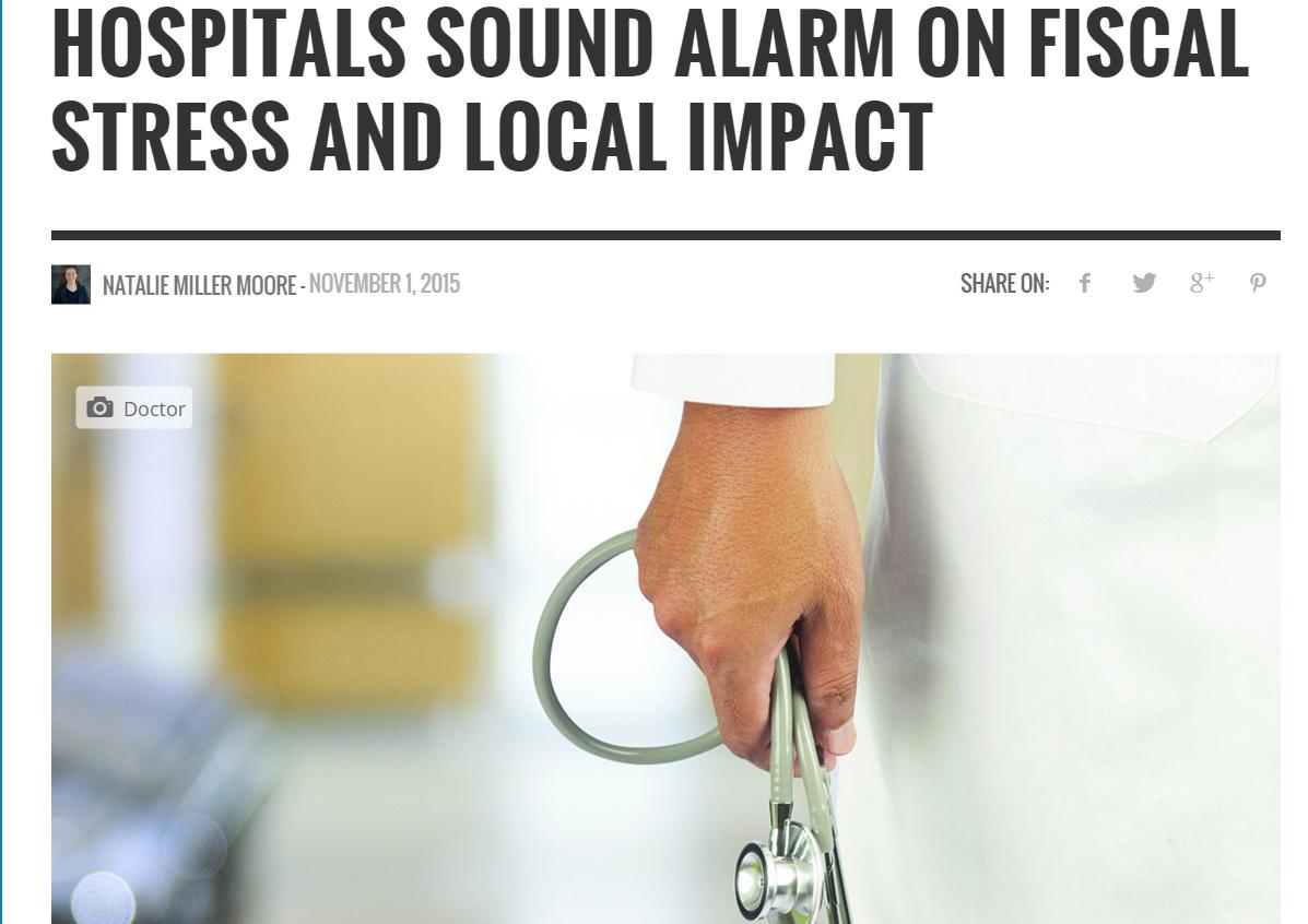The Health Journal: Hospital Stress