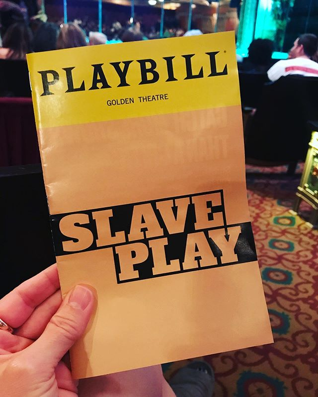 Go see it so we can talk about it  @jeremyoharris #lastnight @slaveplaybway