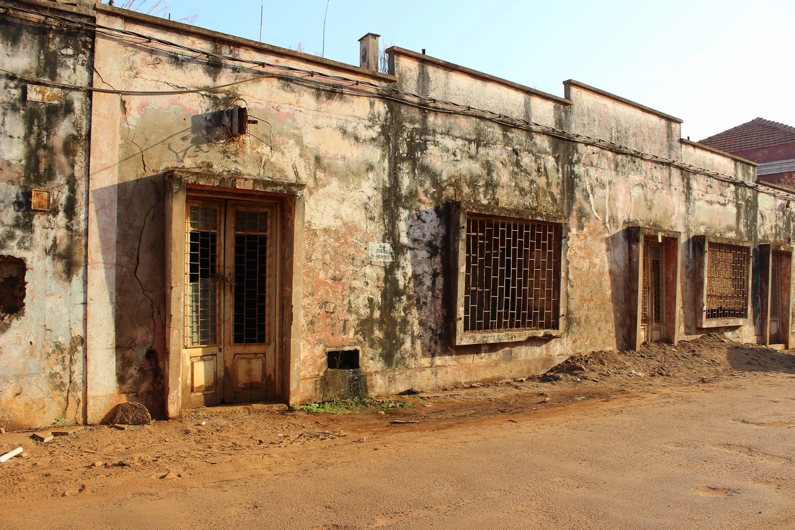 Colonial Building in Bissau