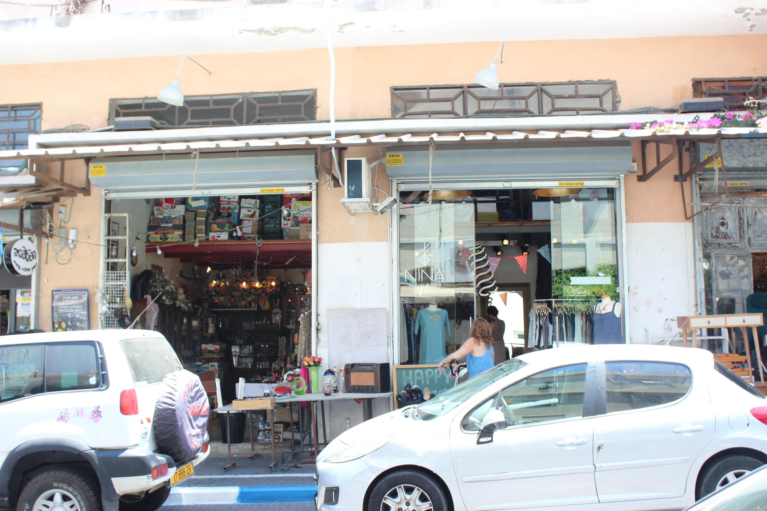 There are tons of little boutiques in Jaffa, Tel Aviv's version of Soho