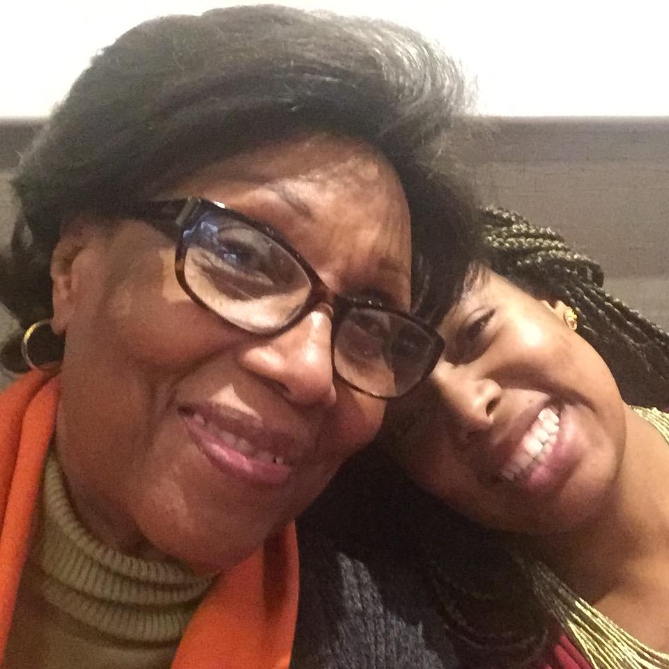 Selfies with Gran in Paris...