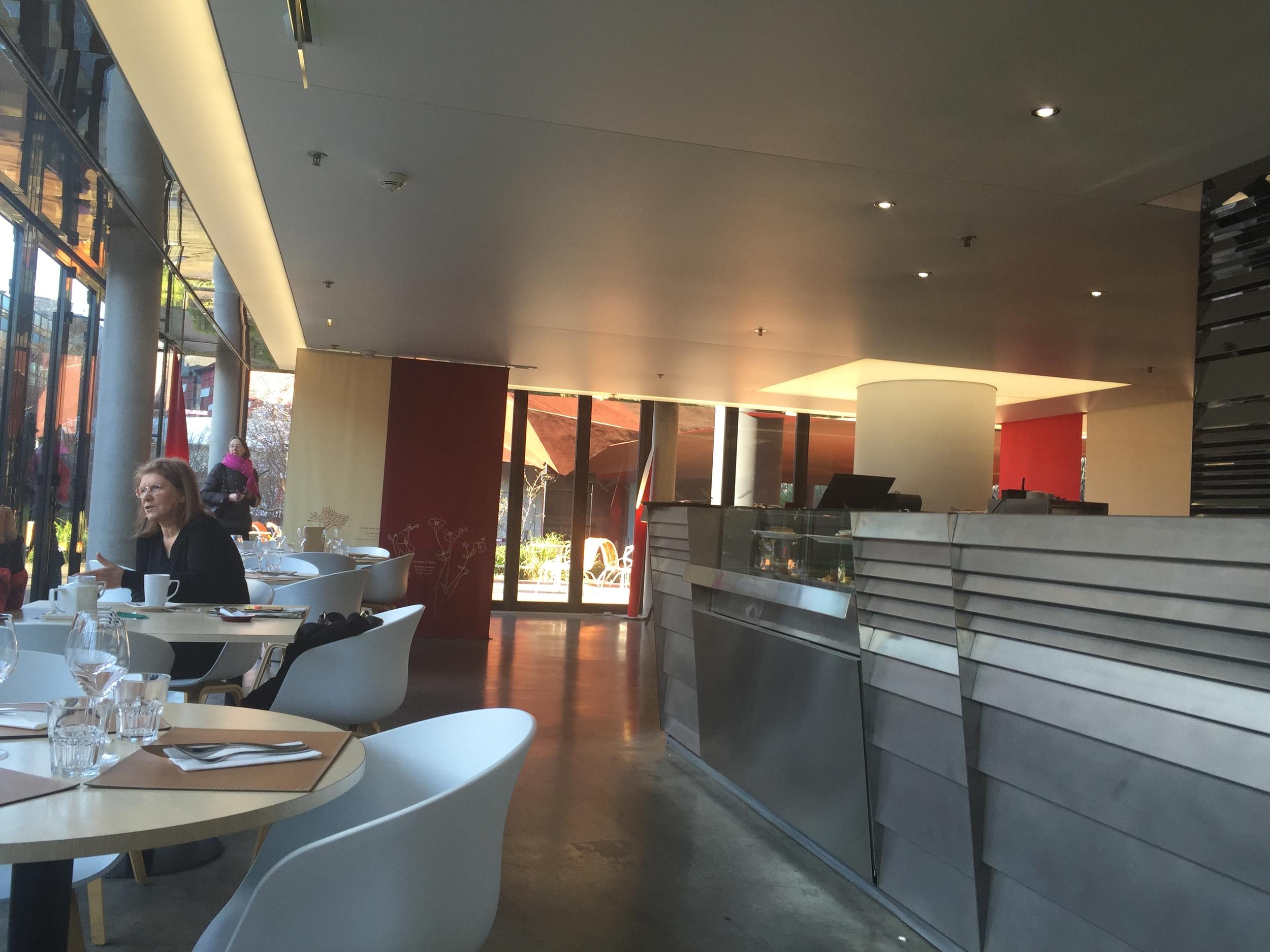 The café at the Musée du Quai Branly