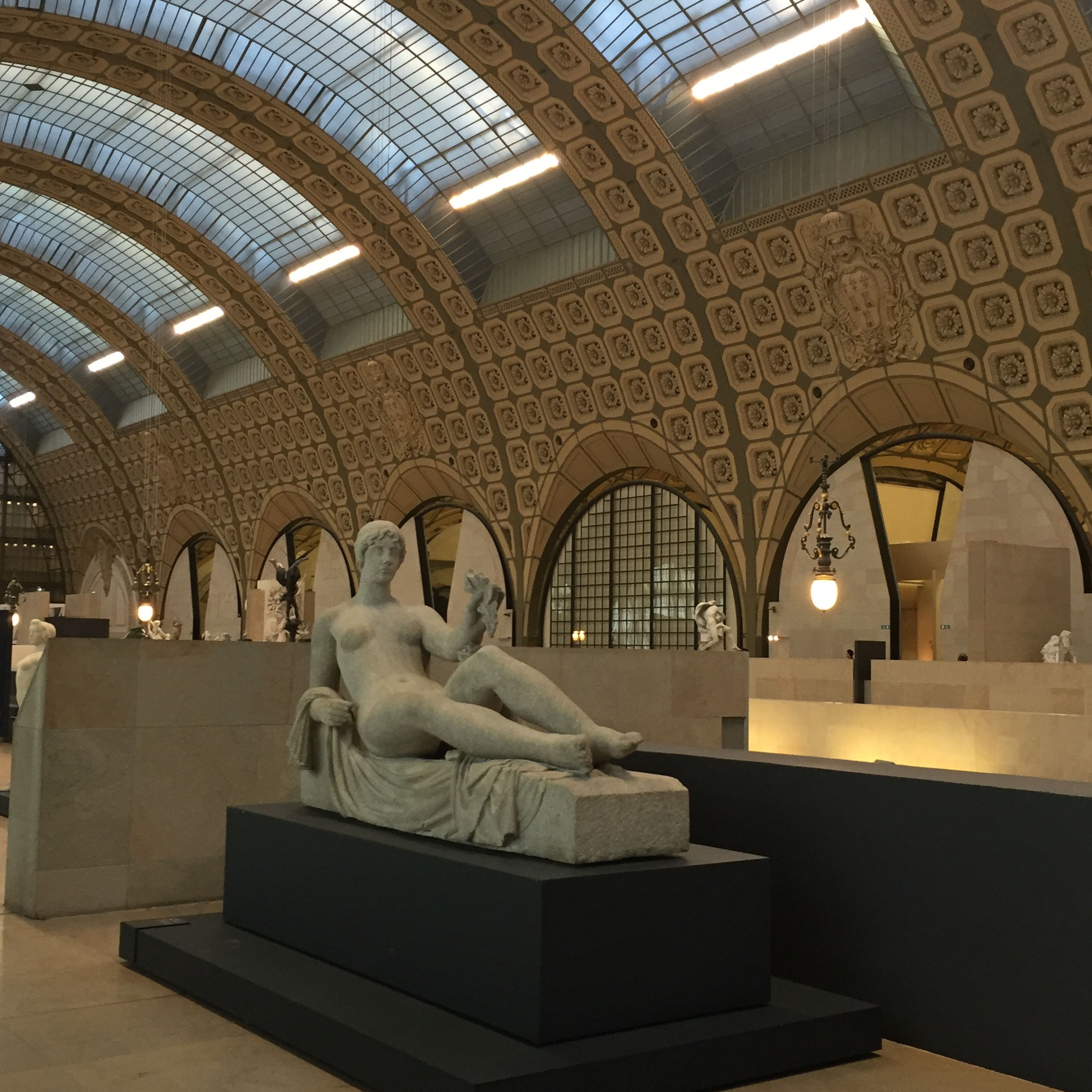 The view from the bench where we took a rest at the Musée d'Orsay