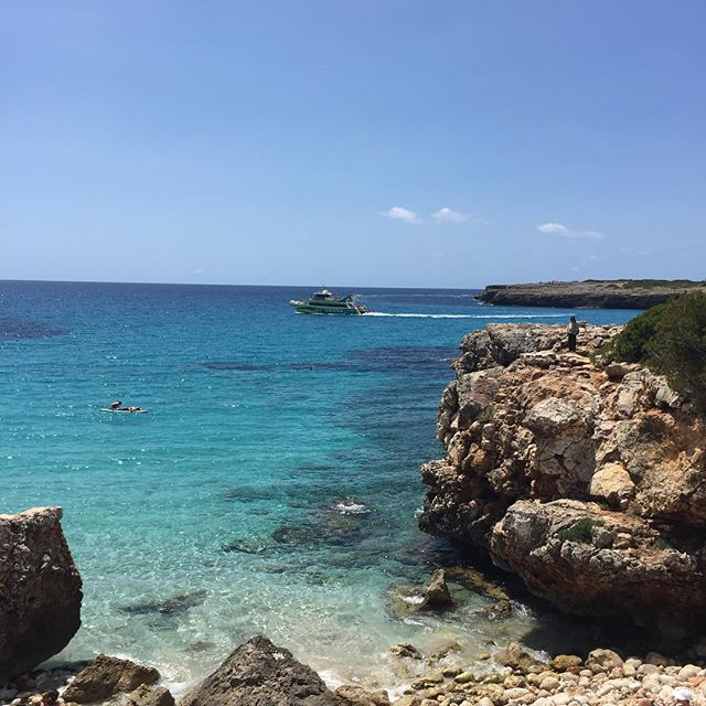 One of the most beautiful places ever. #mallorca #beach #spain