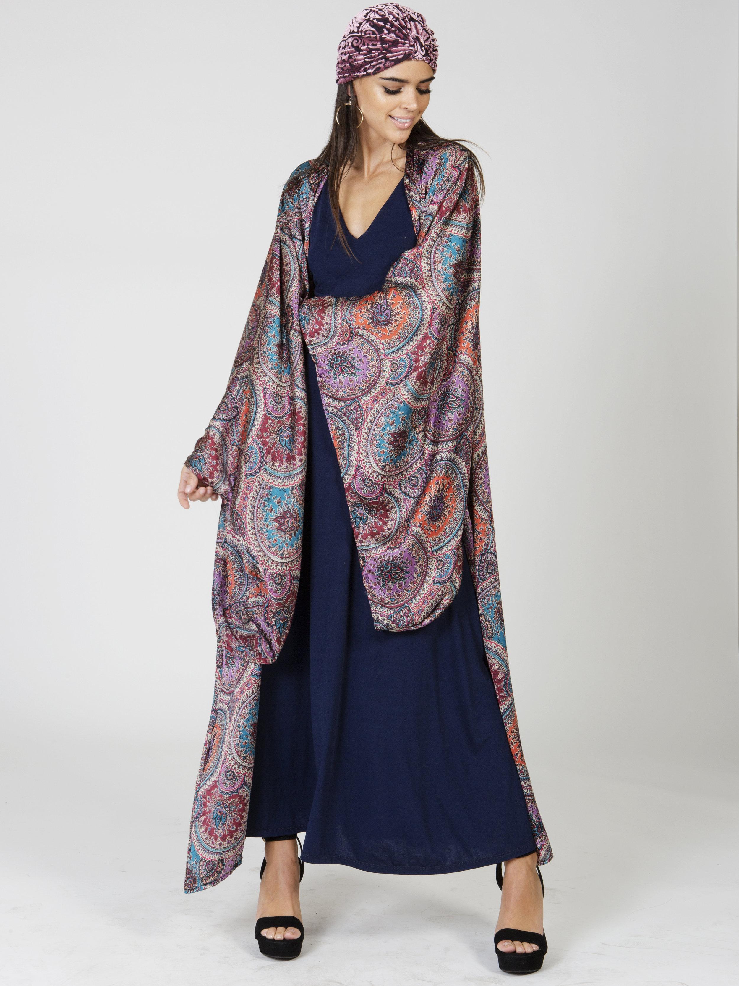 Purple Paisley Circle Kimono Front.jpg