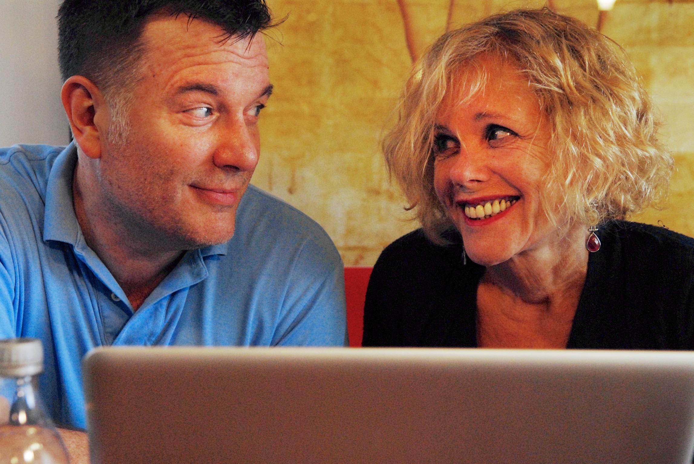 Jim Dalglish and Lynda Sturner