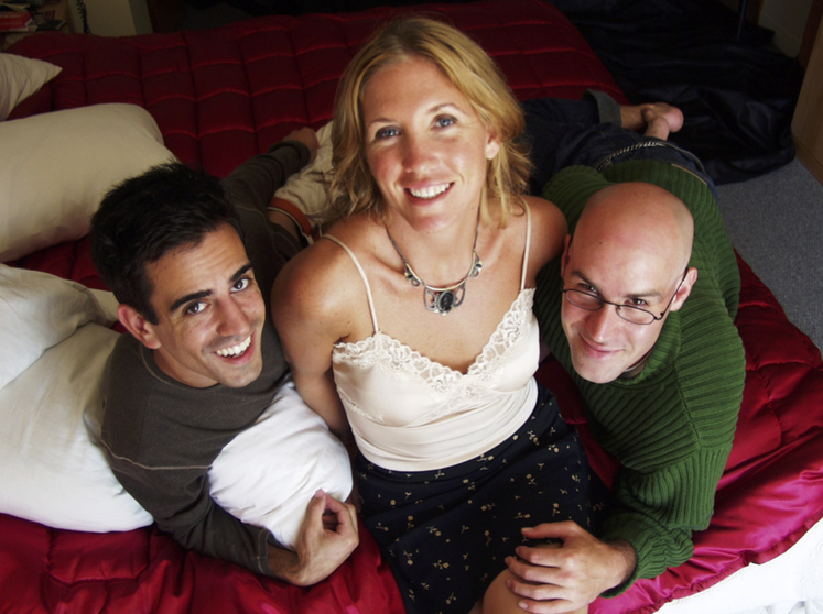 Ben Koppleman, Siobhan Stackpole and Jay Buol in   Three Pillows (SexTet)   Provincetown Theater Company, 2002