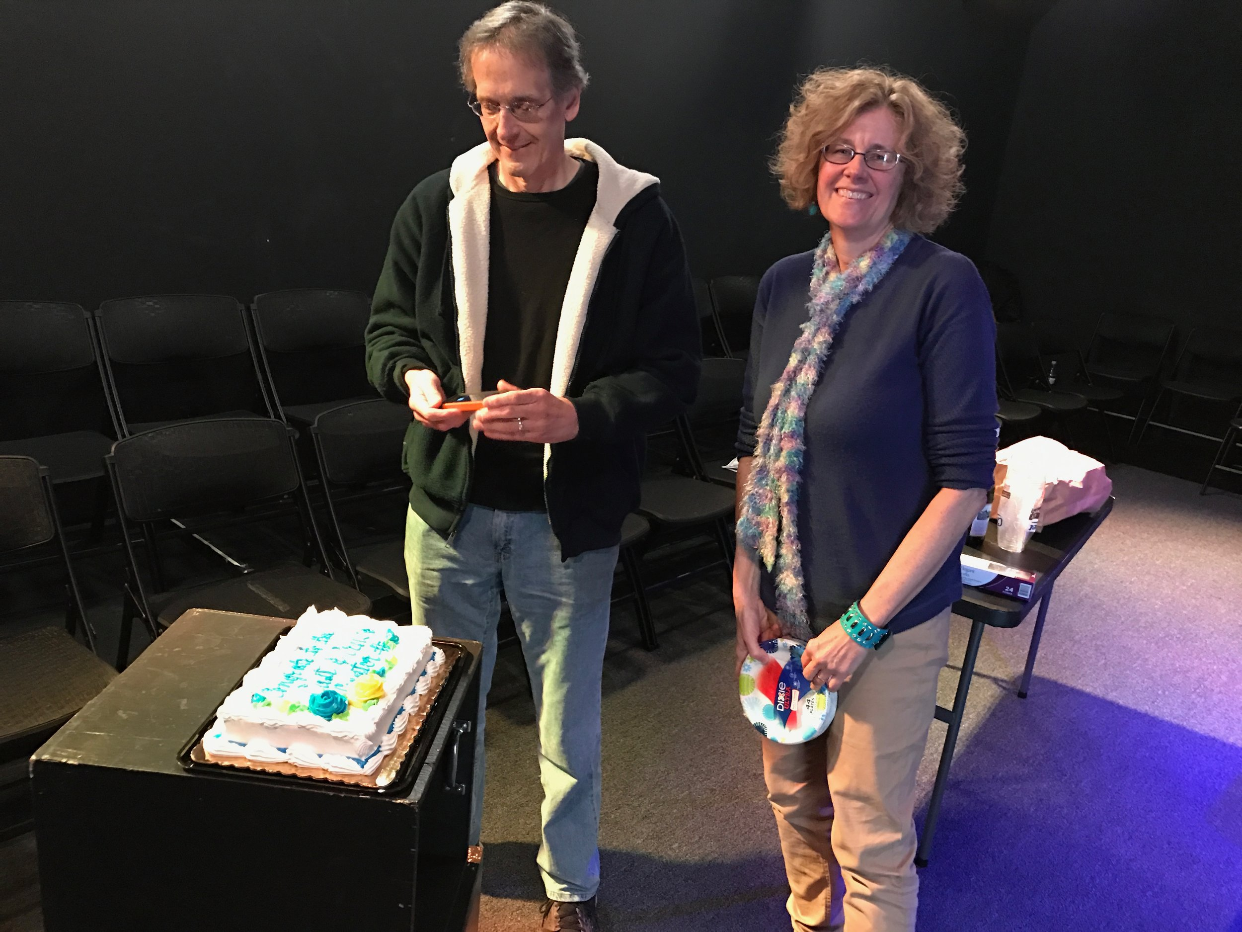 Robert Bucchianeri and Paula Schnepp – Nick's wonderful parents.