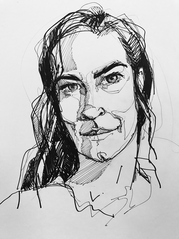 Jackie Reeves – self portrait