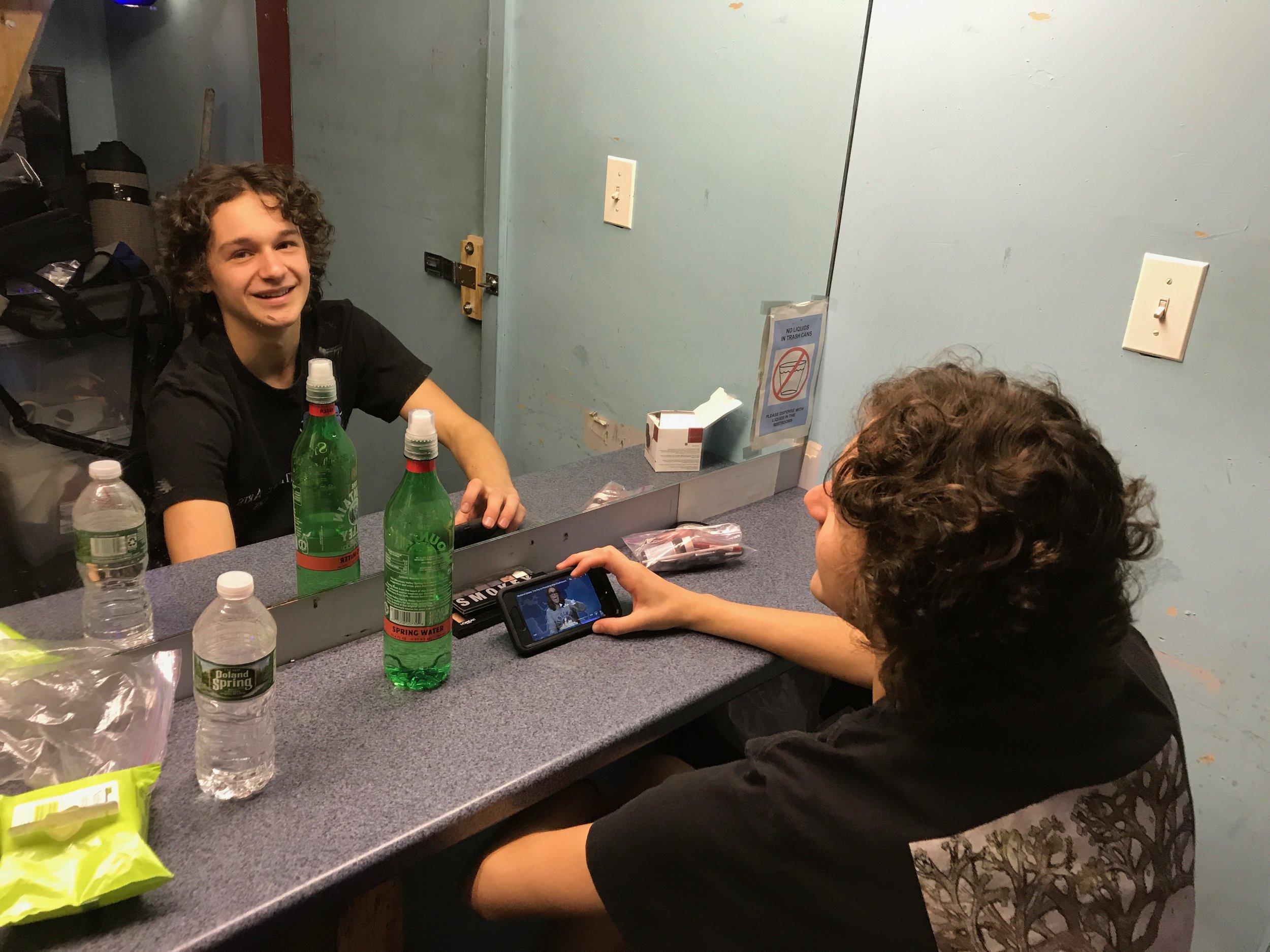 Backstage / Dressing room