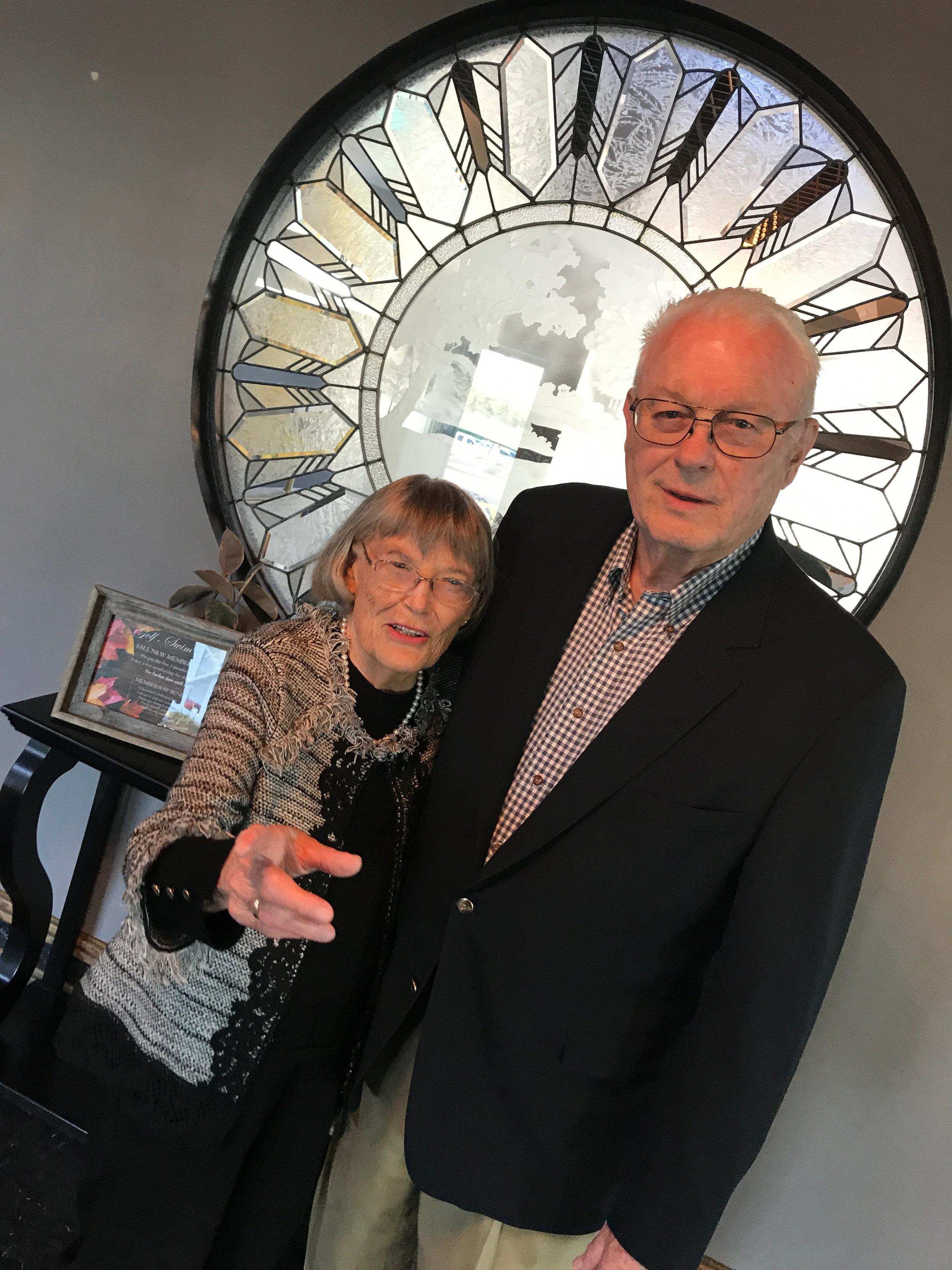 Joanne and Jim Dalglish – indulgent parents