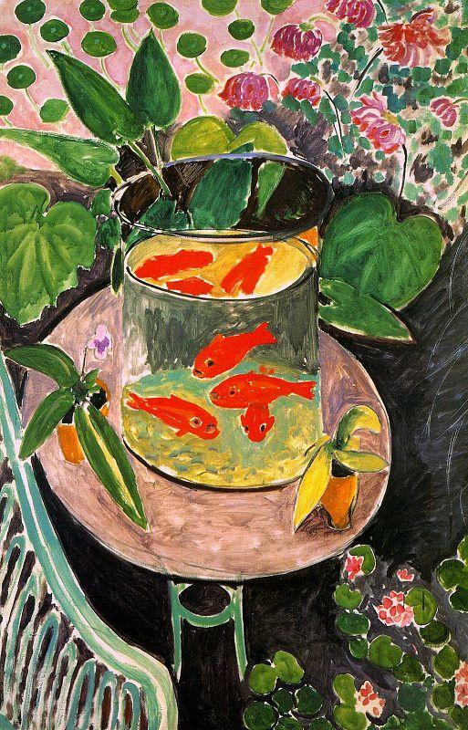 goldfish matisse