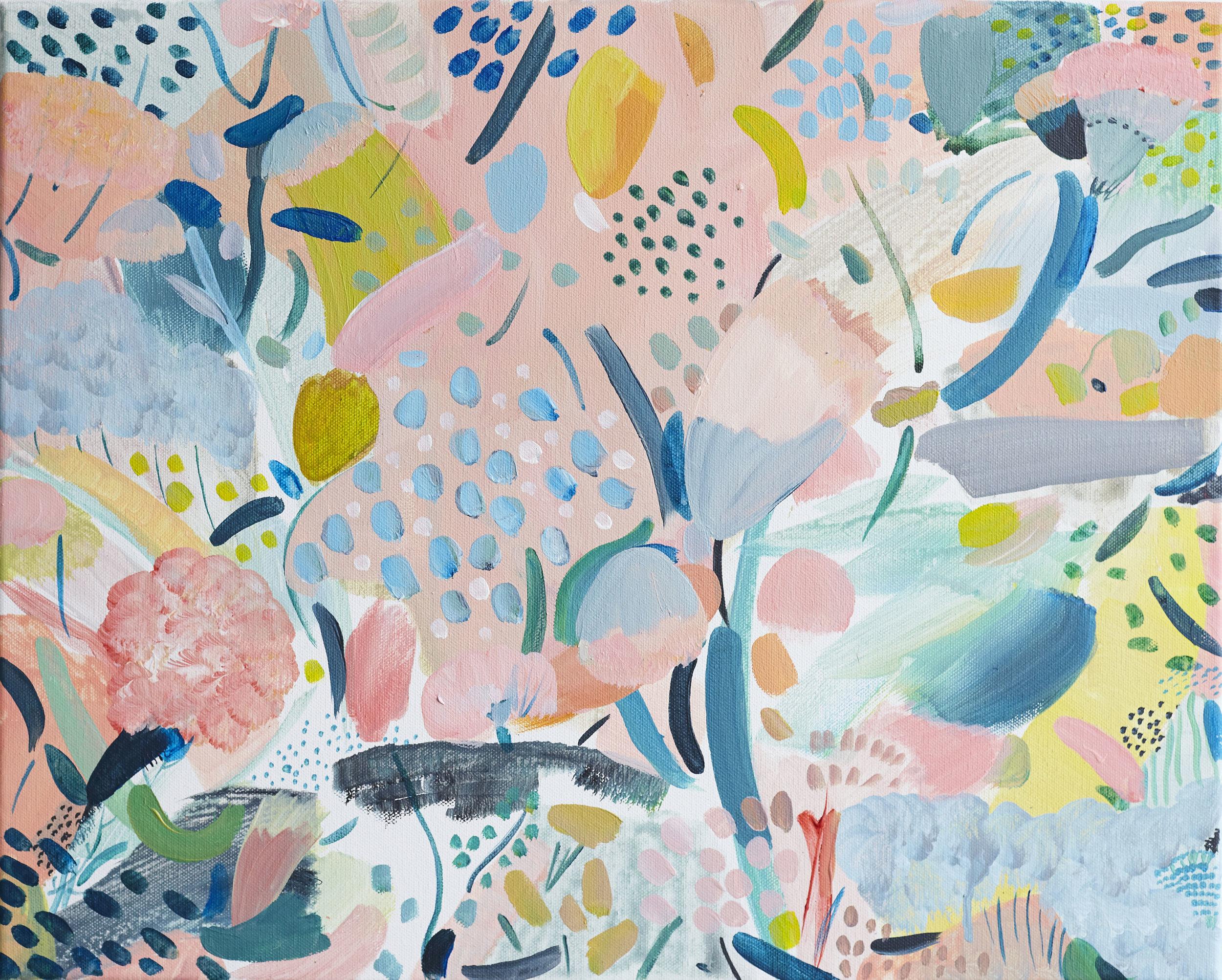 'Sweet Fragrance'  acrylic on canvas 50cmx40cm (sold)