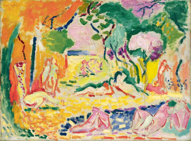 Henri Matisse Study for the 'Joy of Life' 1905