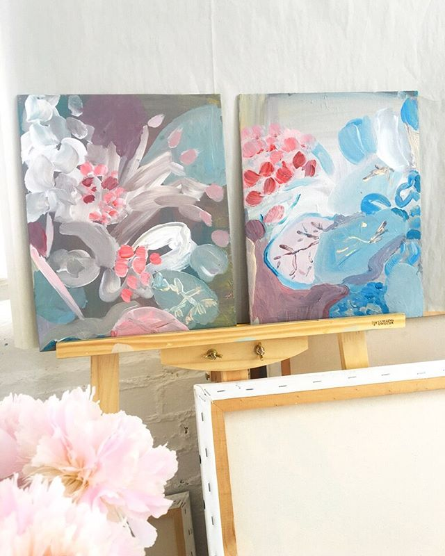These two paintings ' Go With The Flow' and 'Soft Landing' are currently part of an online exhibition hosted by Edition Gallery, the piece on the left has now sold but I do have a few paintings, ( all acrylic on board) available via the wonderful @theeditionshop 🌸💕✨ . . . . . . . #flowerpainting  #pinkpainting #londonartist #abstractflowers #flowers #lauragee #londonstudio #abstractnature #acrylicpainting #creativeprocess #studiowall #canvas #affordableart #artiststudio #lovecreativelife #fineart #contemporaryart #abstractart #modernart #creativeprocess #abstractart #fineart #foliage #flora #pinkpainting #rumi #rumiquotes #fullbloom #bloom #loosefloral
