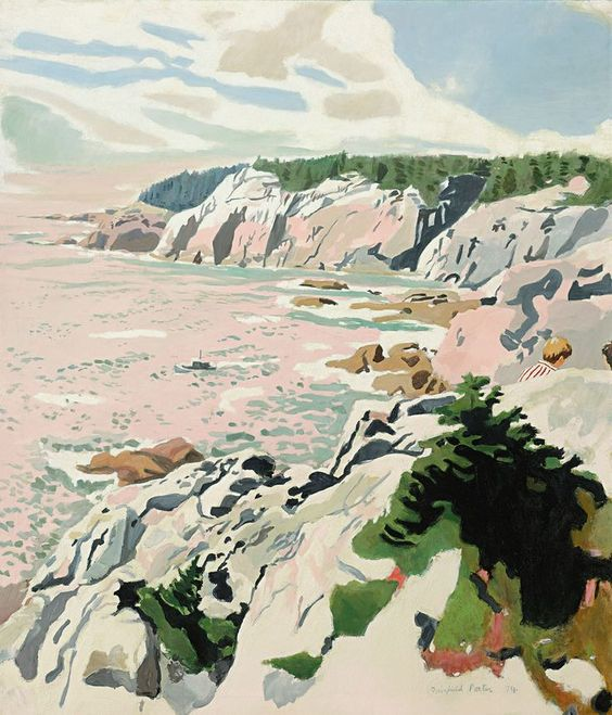 The Cliffs of Isle Au Haut