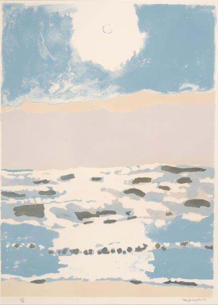 Sun & Sea, Fairfield Porter 1975