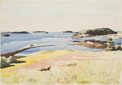 'Meadow, Sea and Island' 1971